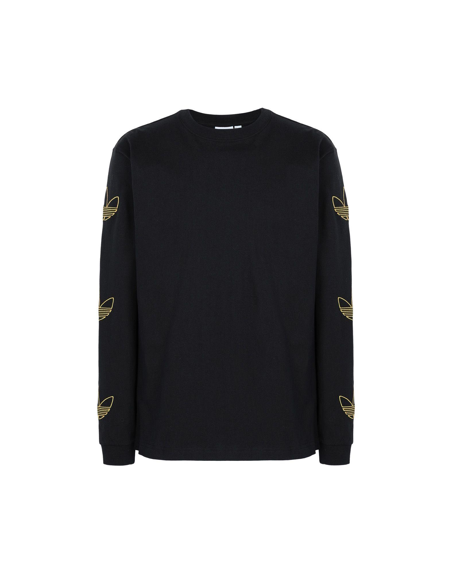 51fcb895 adidas Originals T-shirt in Black for Men - Lyst