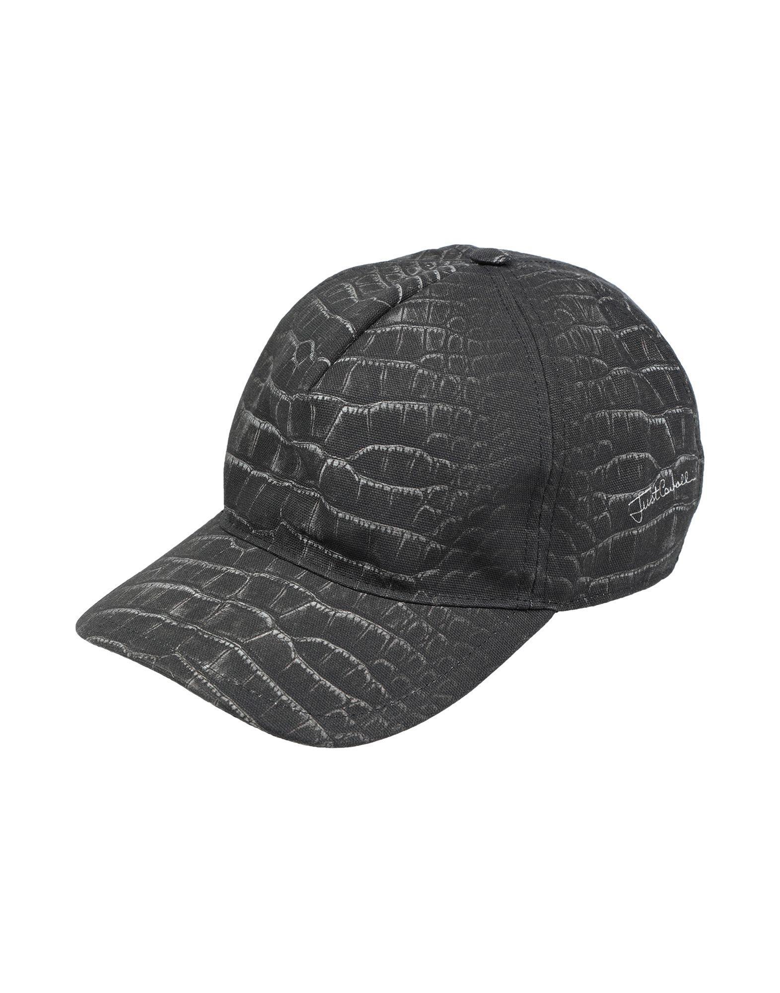 Just Cavalli Hat in Black for Men - Lyst 5cc4fa8df4ad