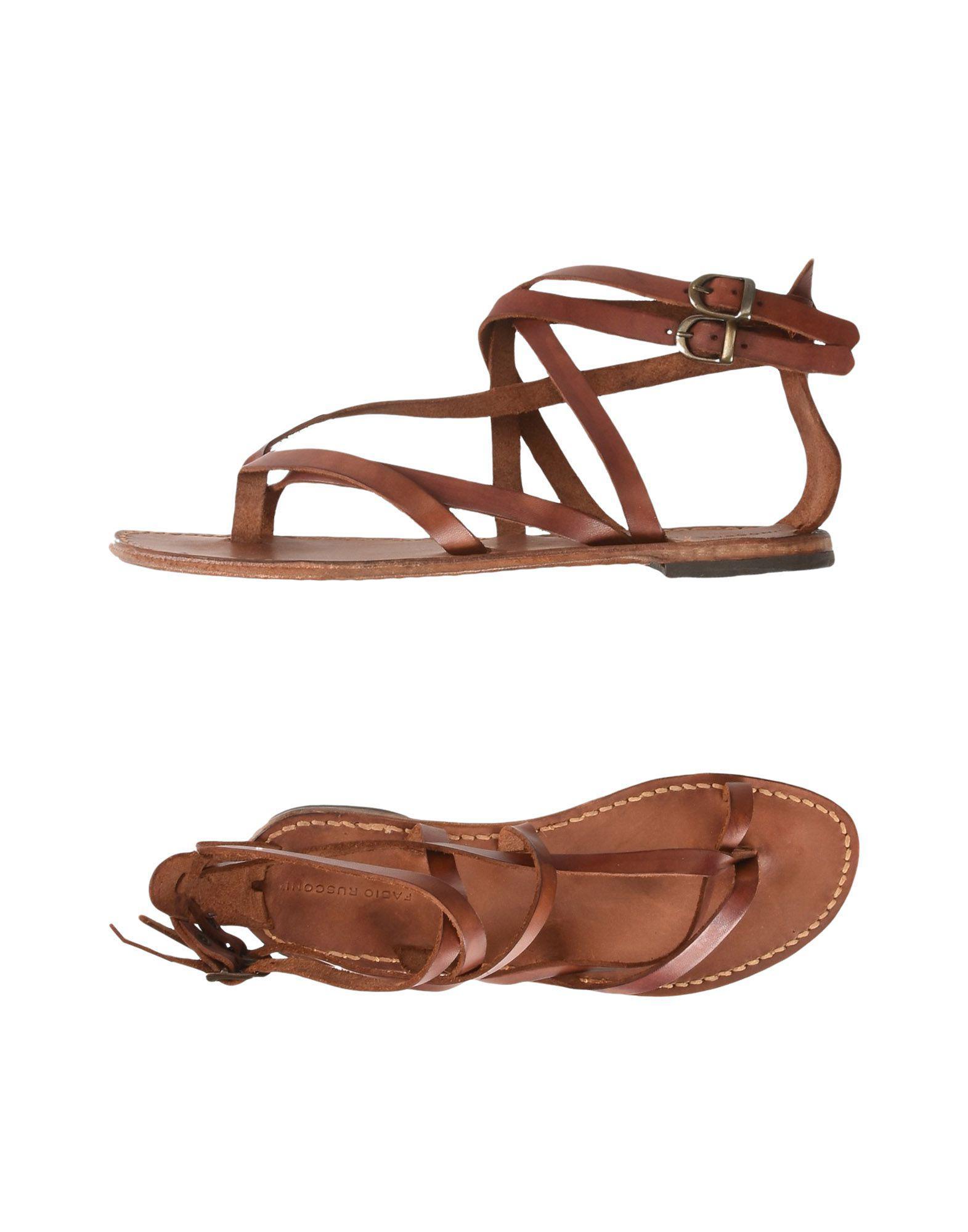 FOOTWEAR - Toe post sandals Fabio Rusconi gm25oBvv5T