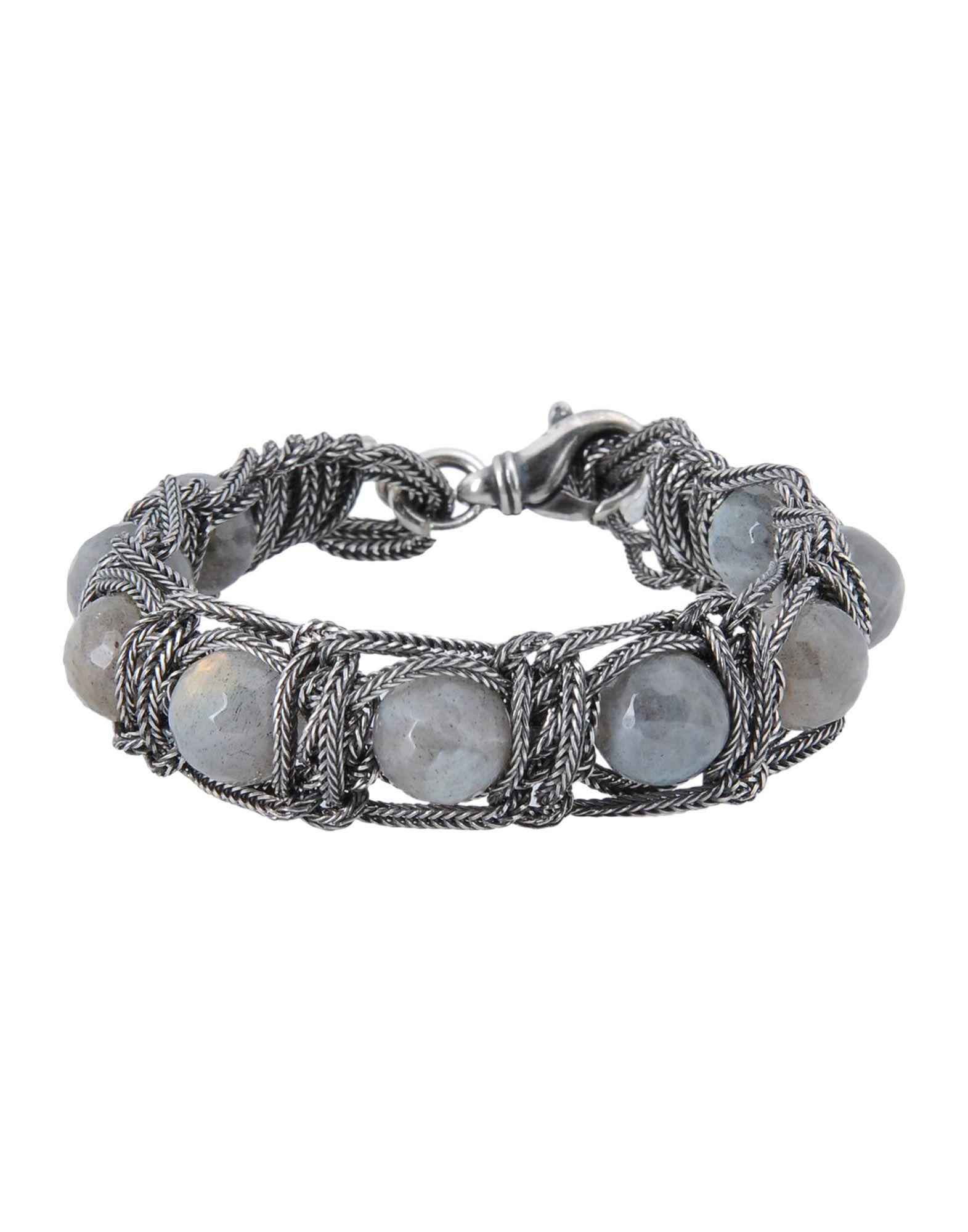 Emanuele Bicocchi Bracelet In Gray For Men Lyst