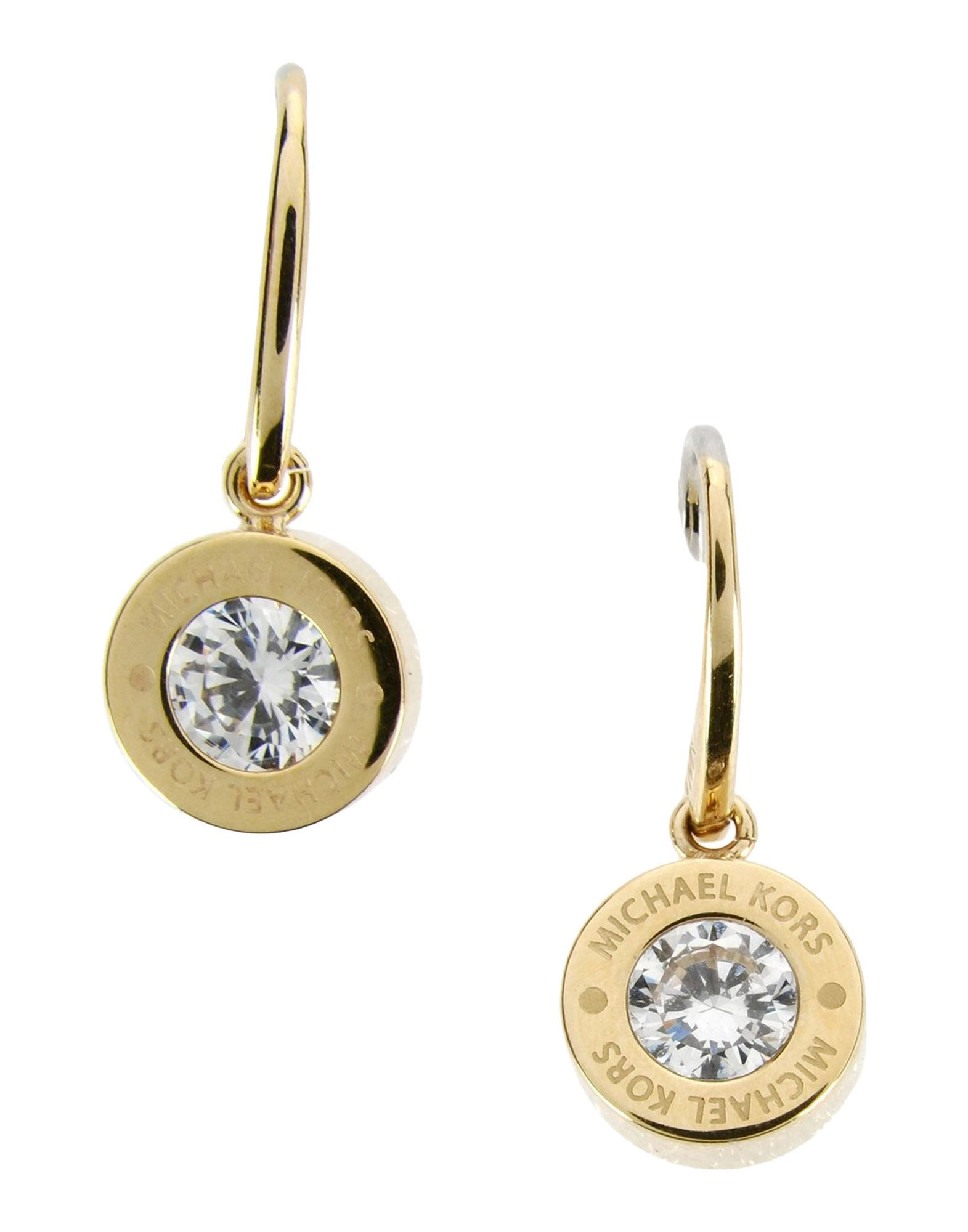 Michael kors earrings in metallic lyst for Michaels crafts jewelry supplies