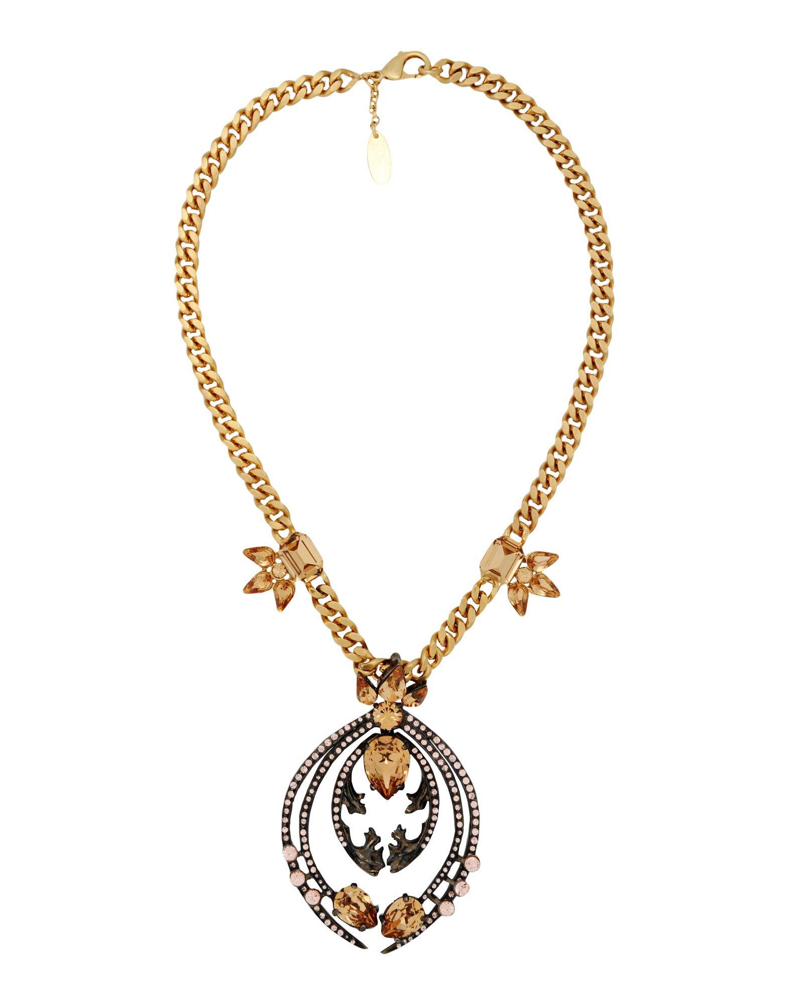 Lyst Roberto Cavalli Necklace In Metallic