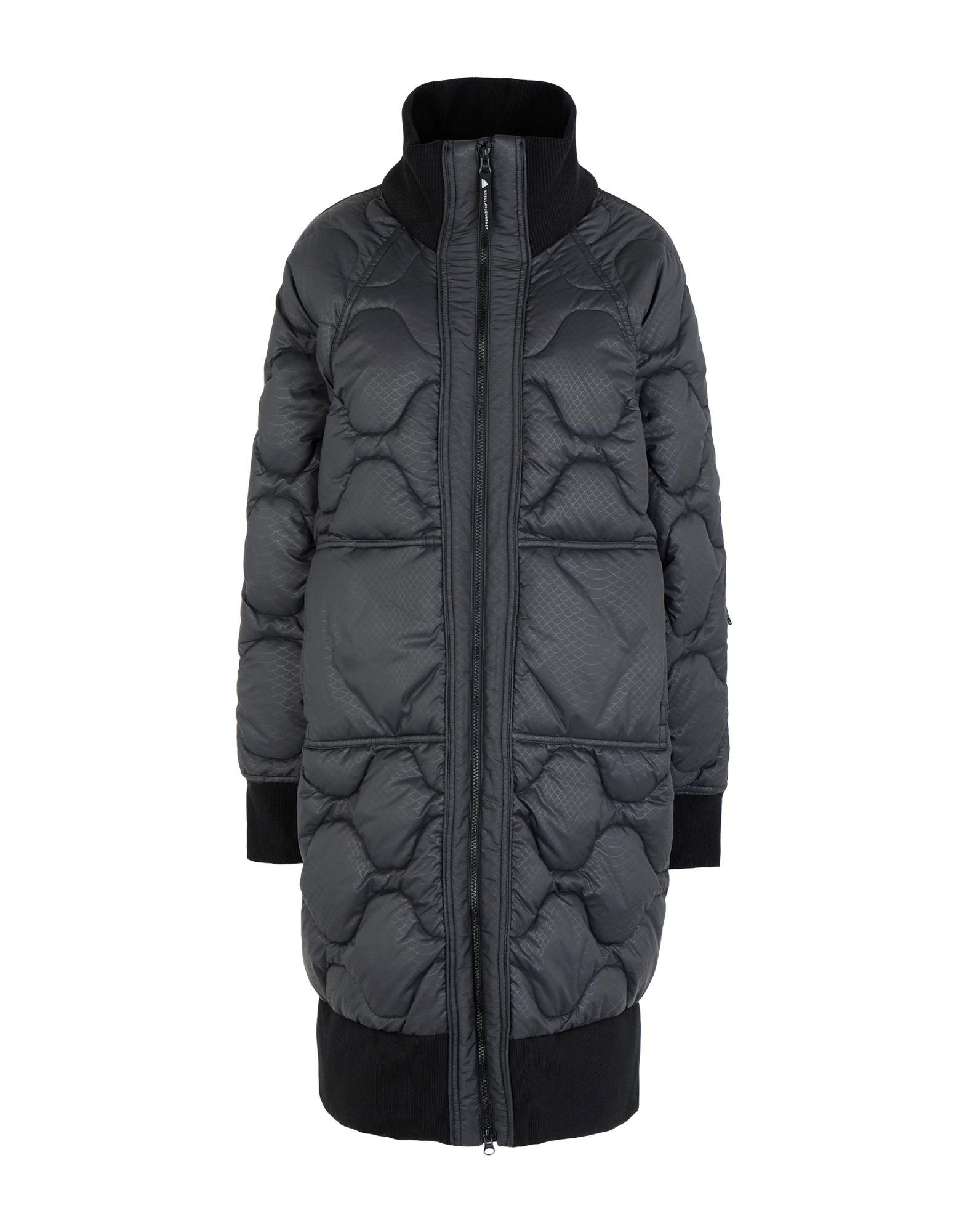 02a1a1ebe Lyst - adidas By Stella McCartney Synthetic Down Jacket in Gray