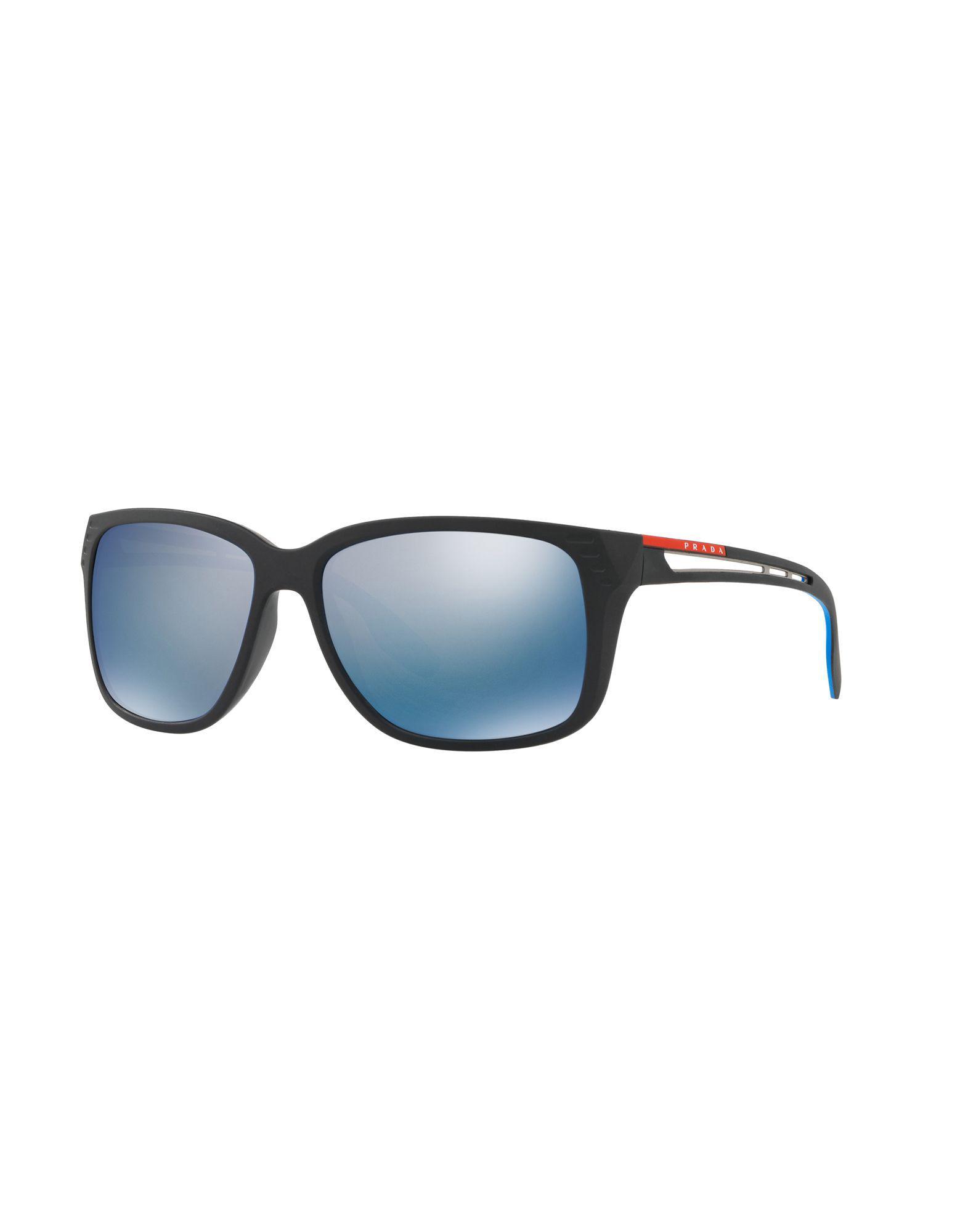 a3ee09d1bd15 best prada black sunglasses for men lyst. view fullscreen a57f1 5f233