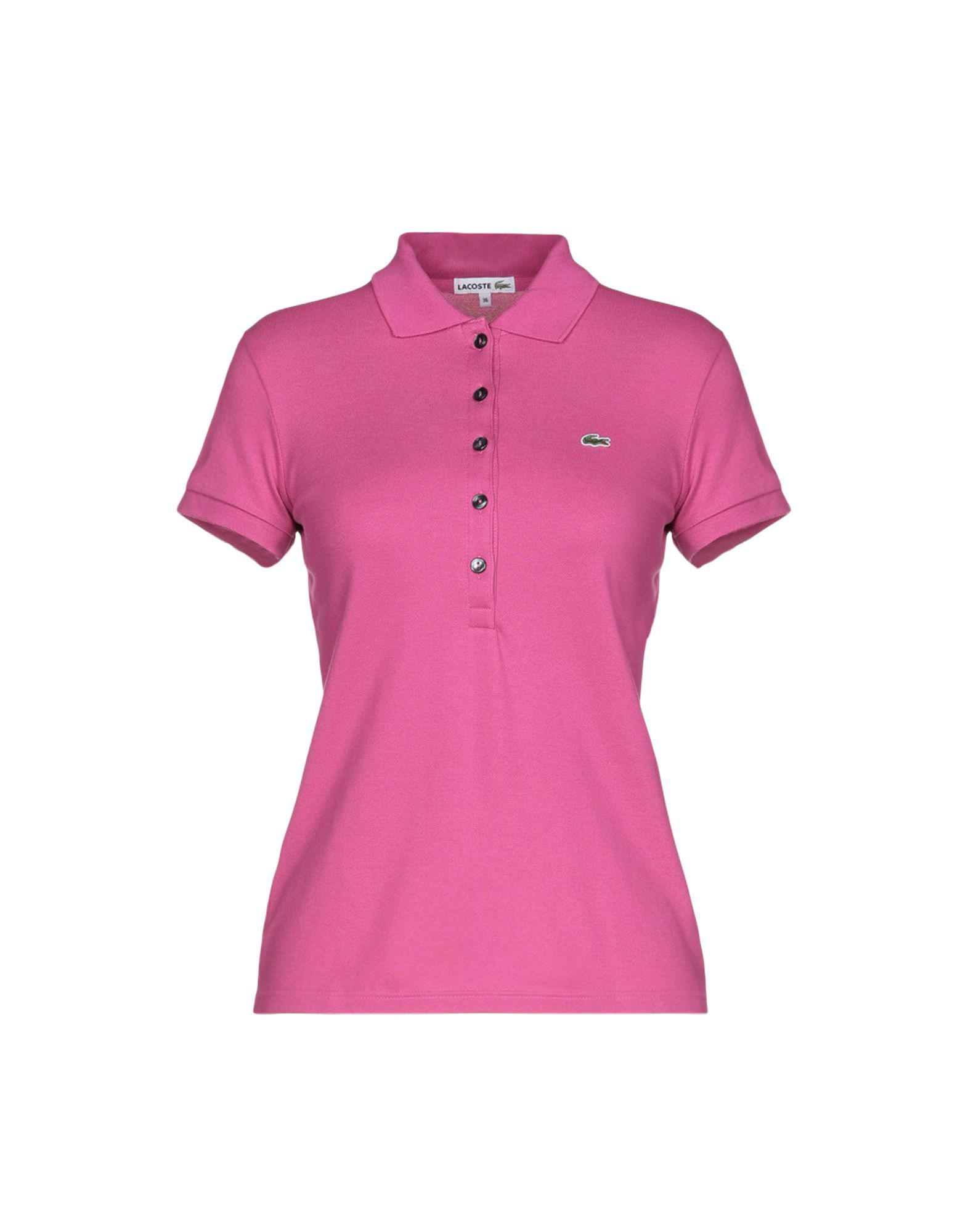 11f6be914b63a Lyst - Lacoste Polo Shirt in Purple