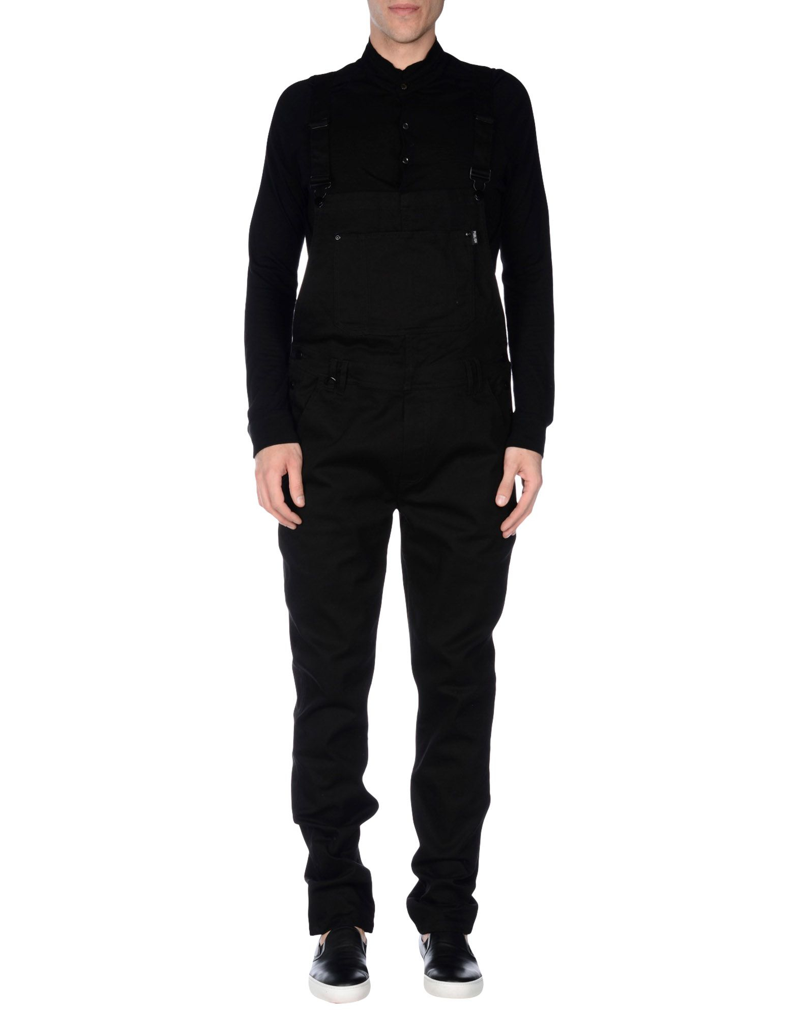 Publish Overalls In Black For Men