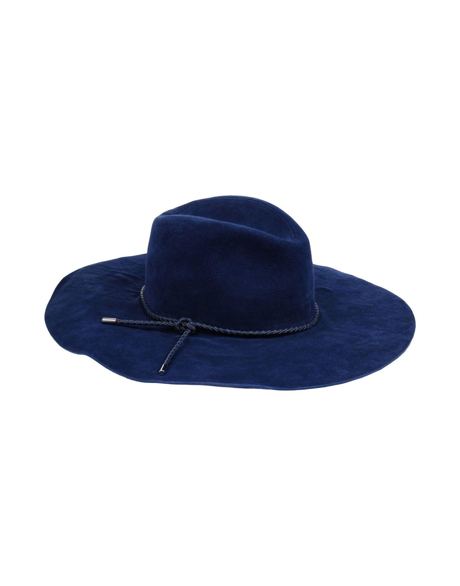 Lyst - Emilio Pucci Hats in Blue 4454f8b04da5