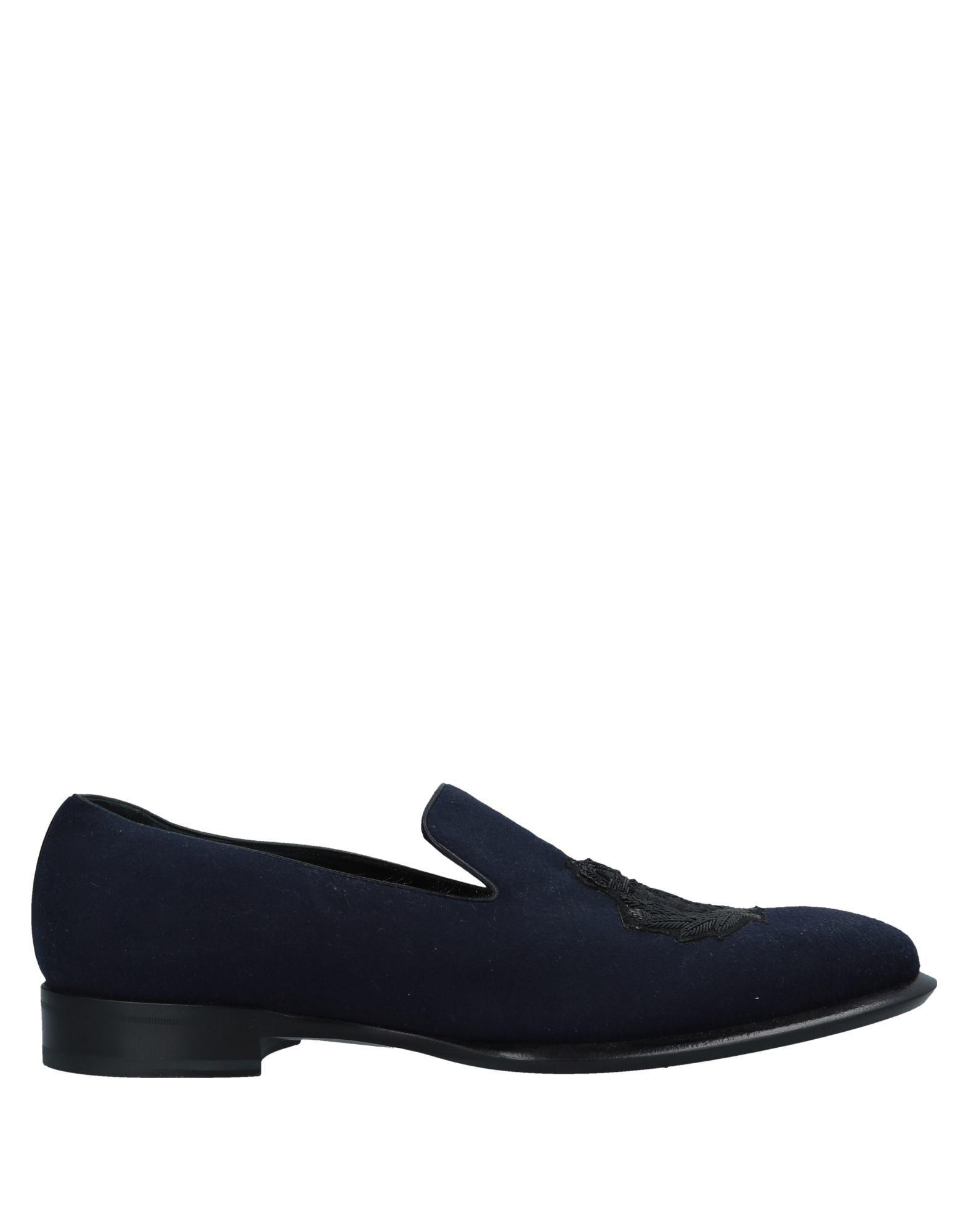 3b6c335b15f Lyst - Alexander Mcqueen Loafer in Blue for Men