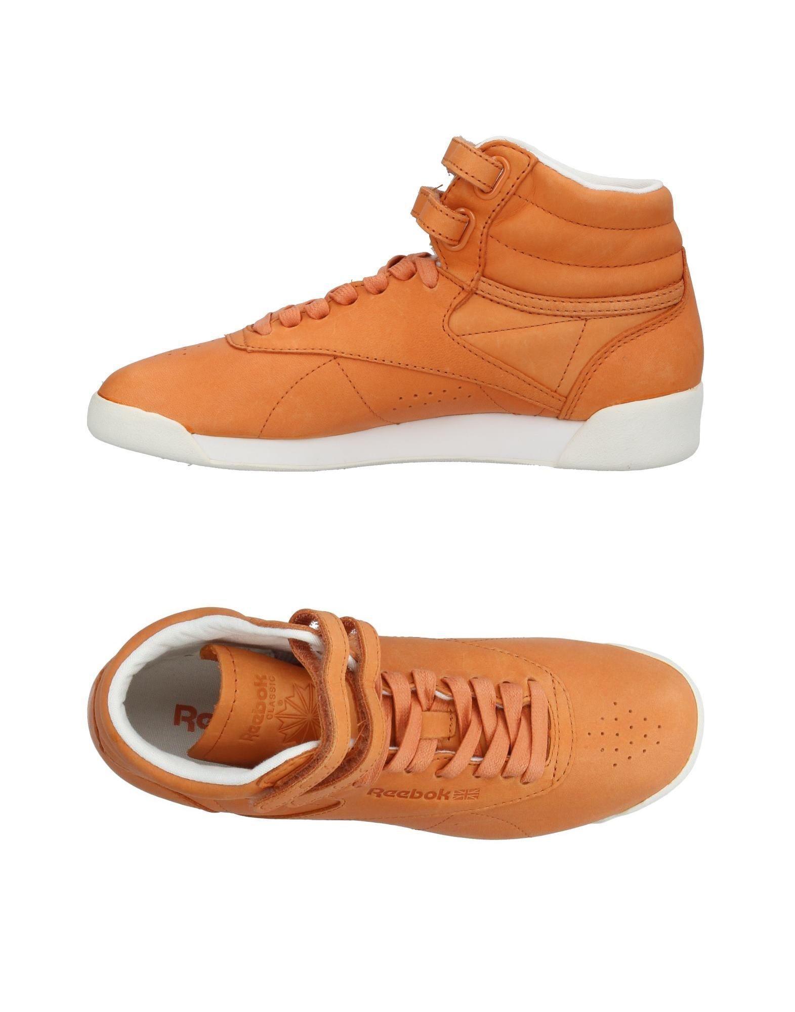 In Lyst Sneakers For High Men Brown Reebok Topsamp; wOiuTPXkZ