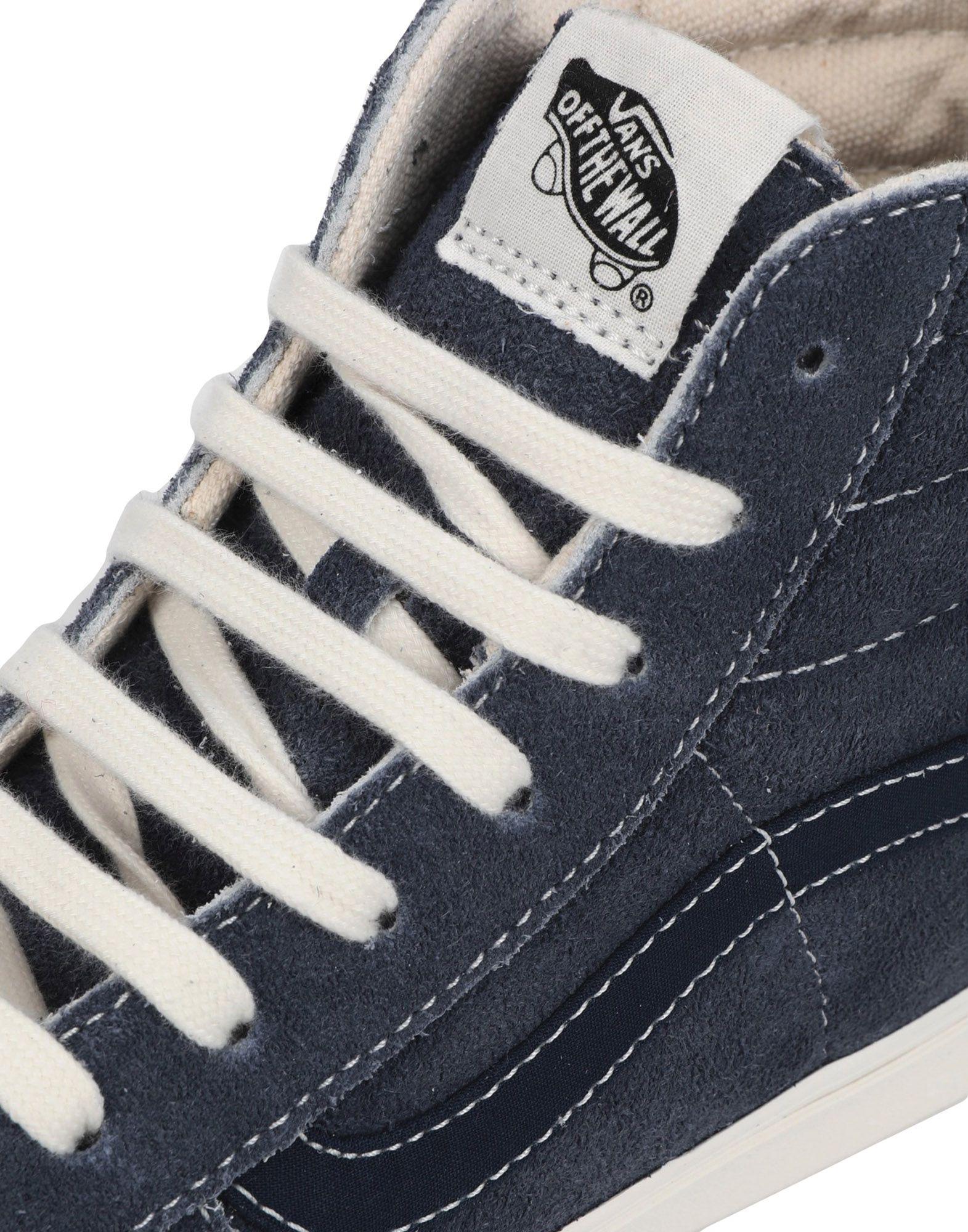 71283d06ad96bf Lyst - Vans High-tops   Sneakers in Blue for Men