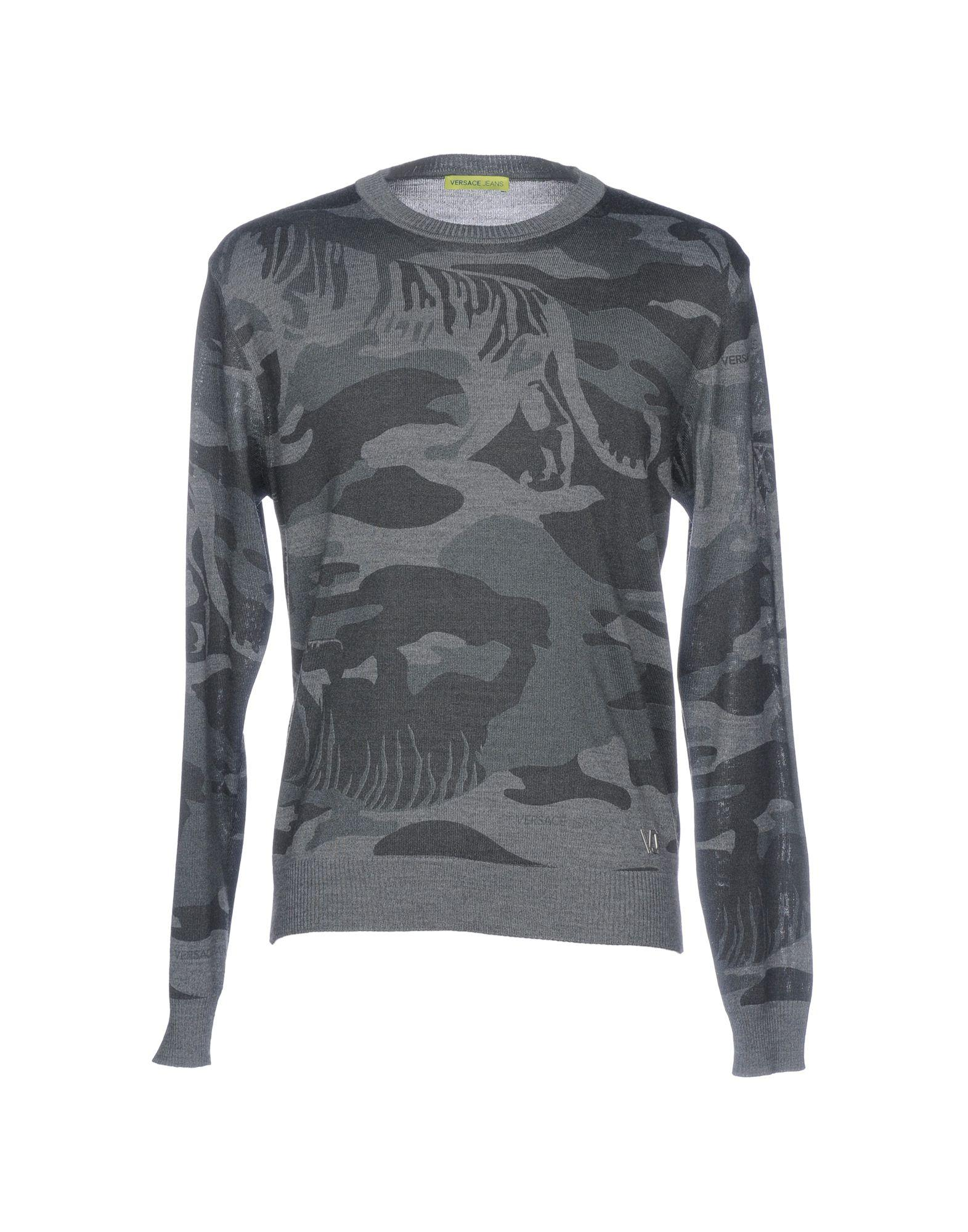 Versace Jeans - Gray Sweater for Men - Lyst. View fullscreen c19c41e7a63