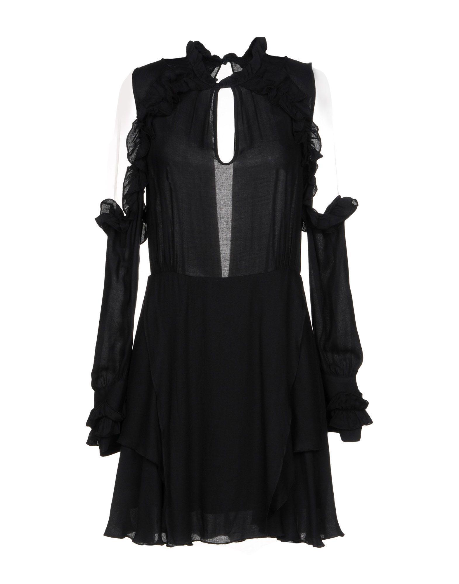 Lyst - Robe courte Iro en coloris Noir 873f0734ea52