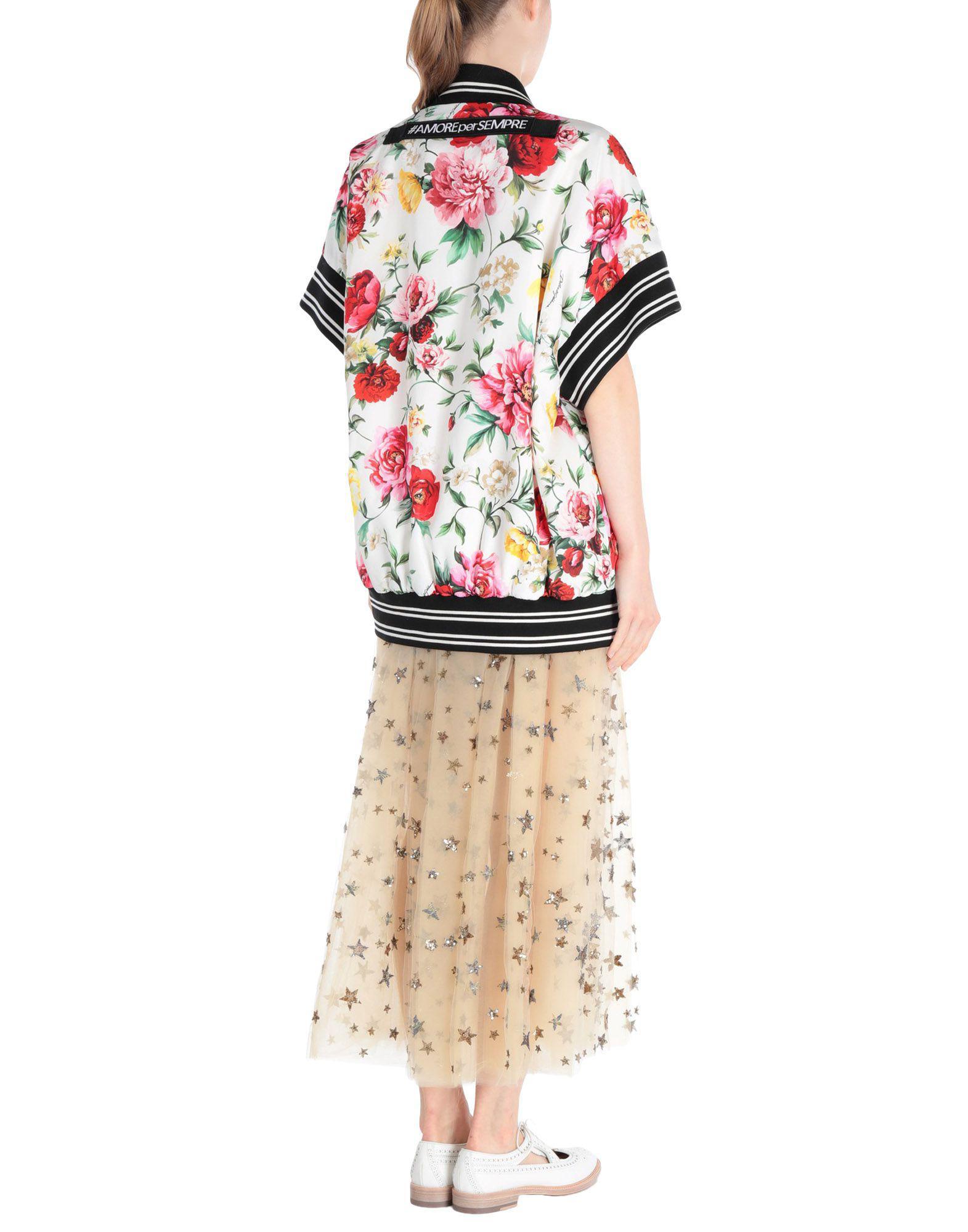 7ee556f342c Dolce & Gabbana Jacket in White - Lyst