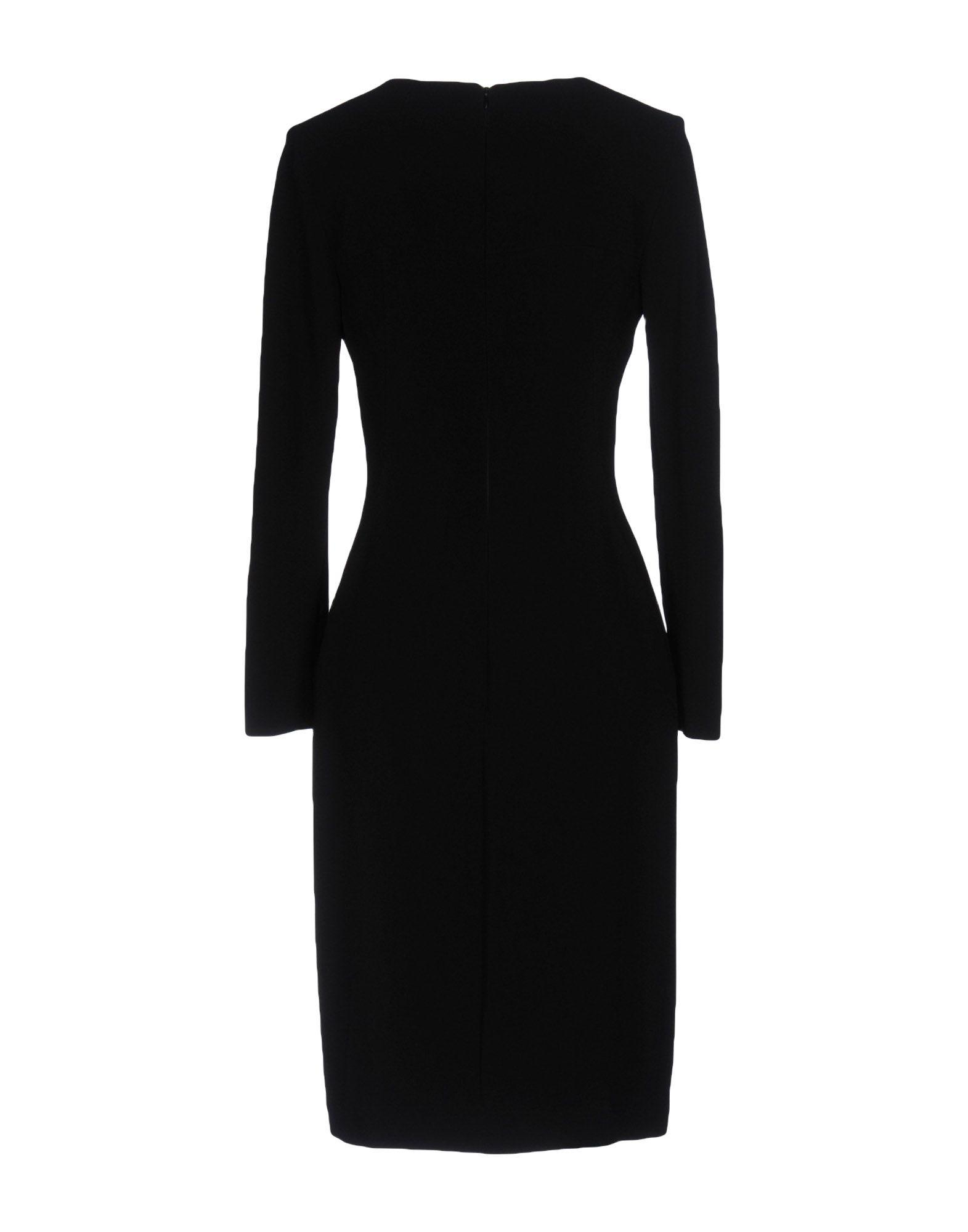 Lyst Length Knee Dress In Capucci Black ZBFwzq