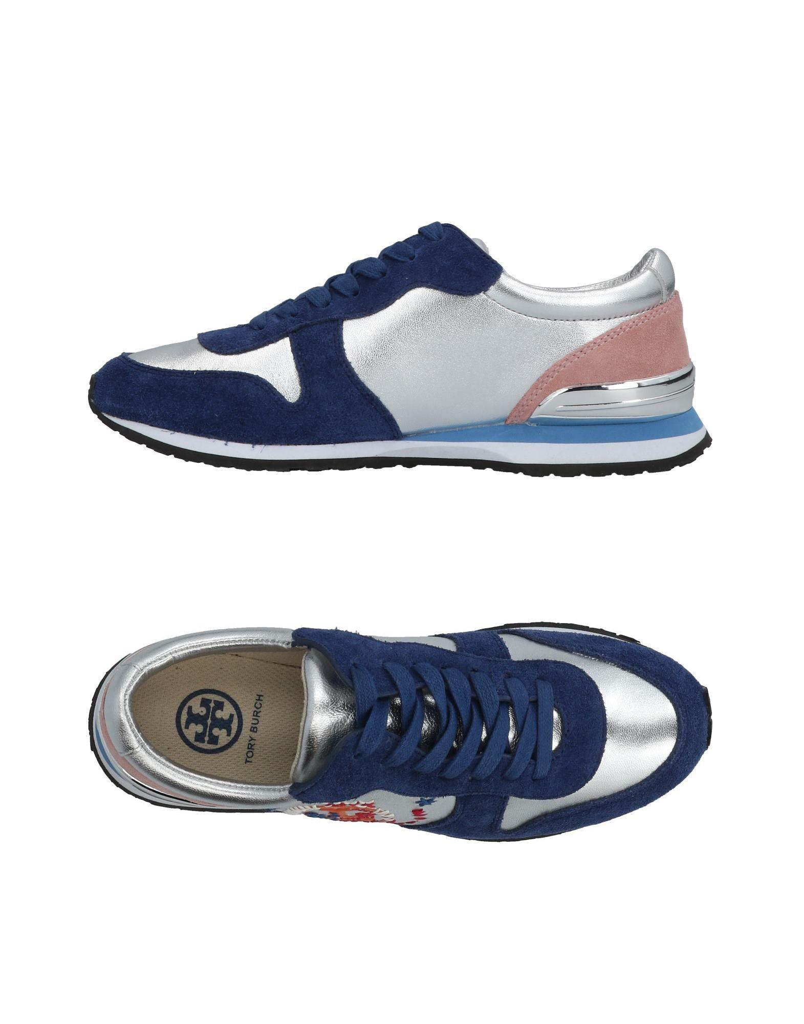 8bbaff938c84 Tory Burch - Metallic Low-tops   Sneakers - Lyst. View fullscreen