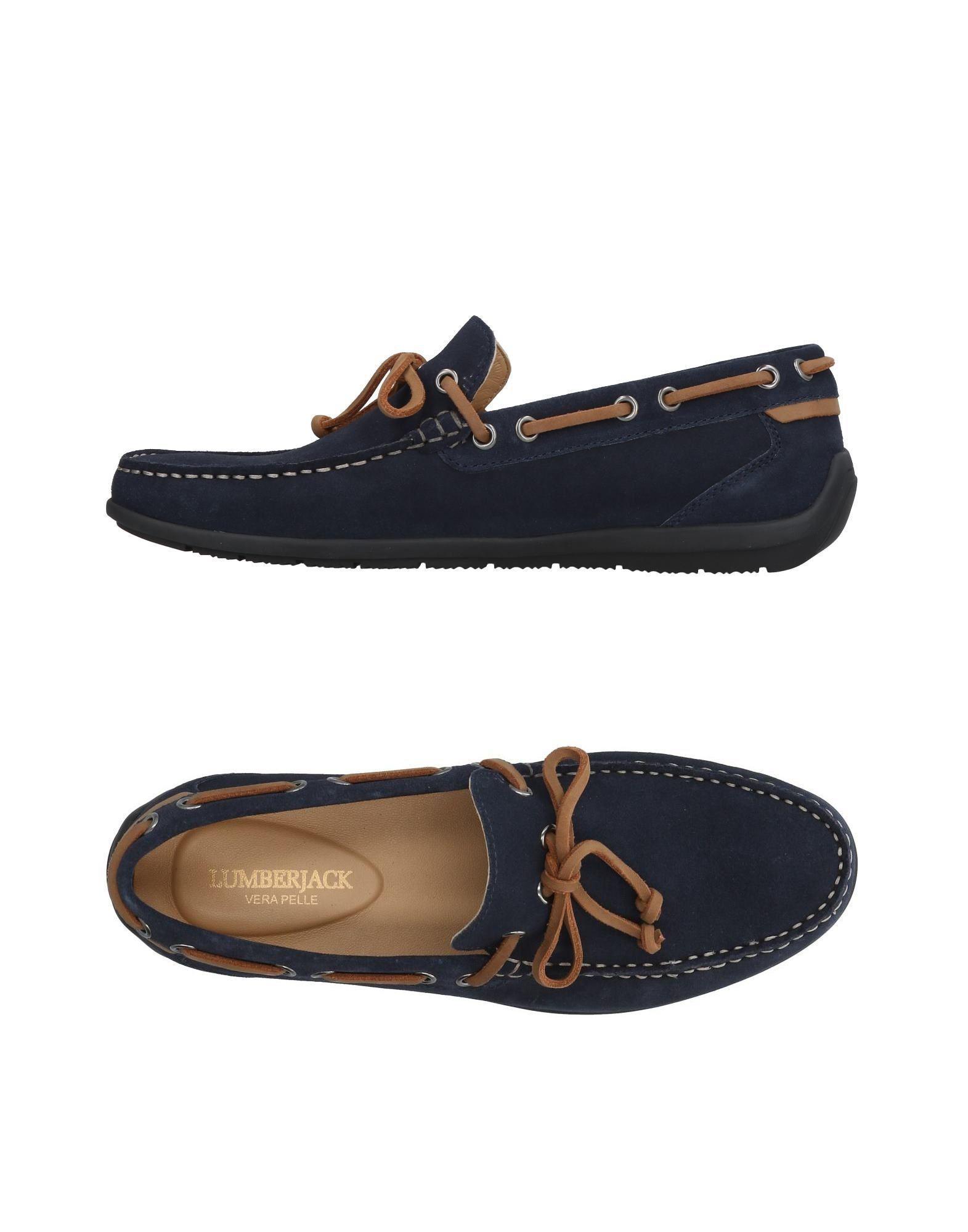 197823c121e Lyst - Lumberjack Loafer in Blue for Men