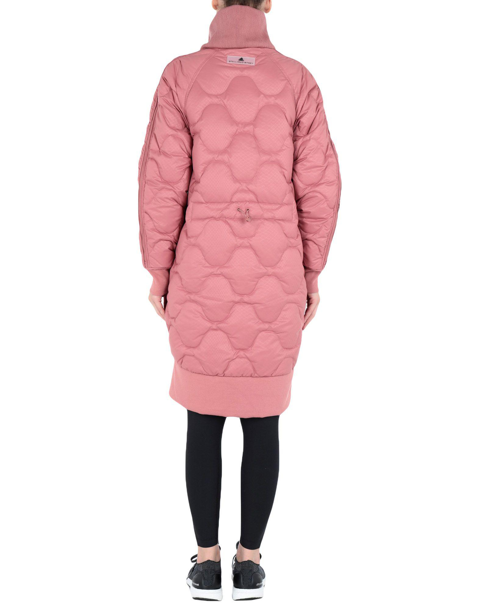 02f7aee3ab06 Lyst - adidas By Stella McCartney Synthetic Down Jacket in Pink