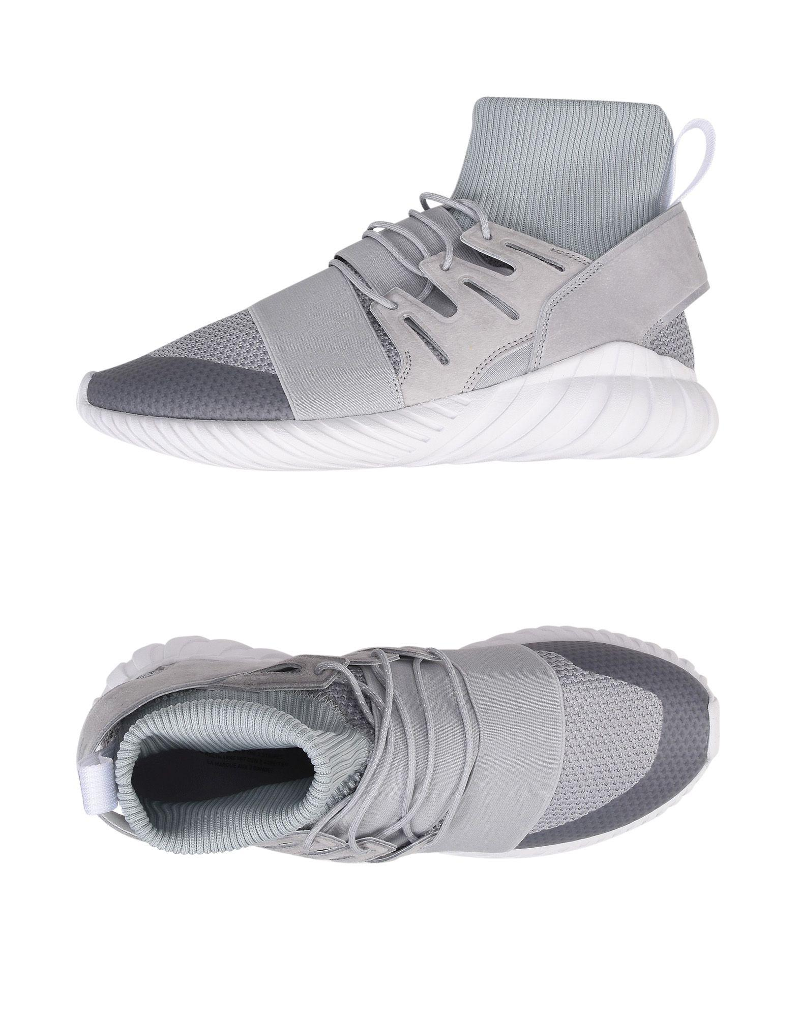 Adidas originali alte & sneaker in grigio per gli uomini lyst