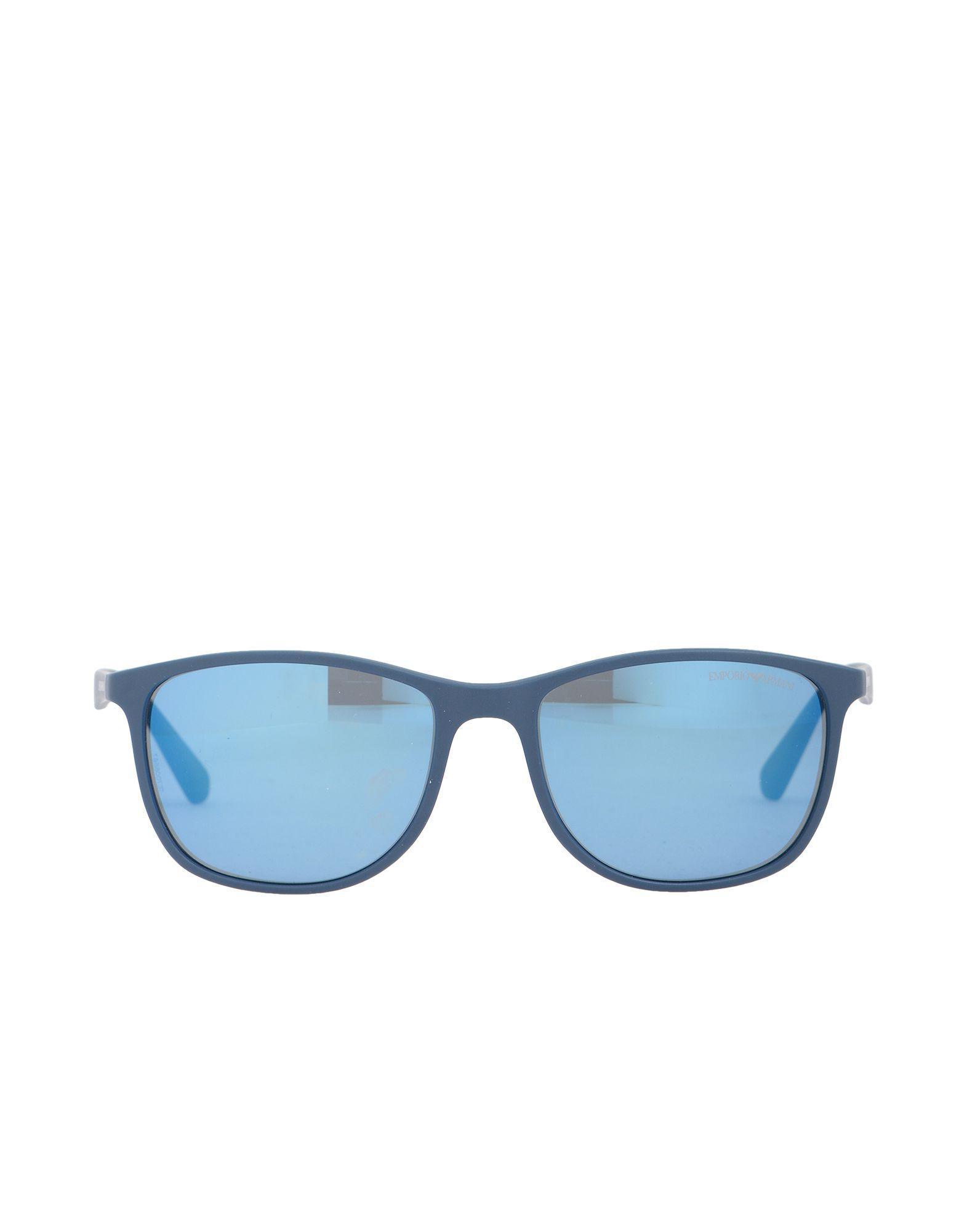 6280447ac37f Emporio Armani Sunglasses in Blue for Men - Lyst