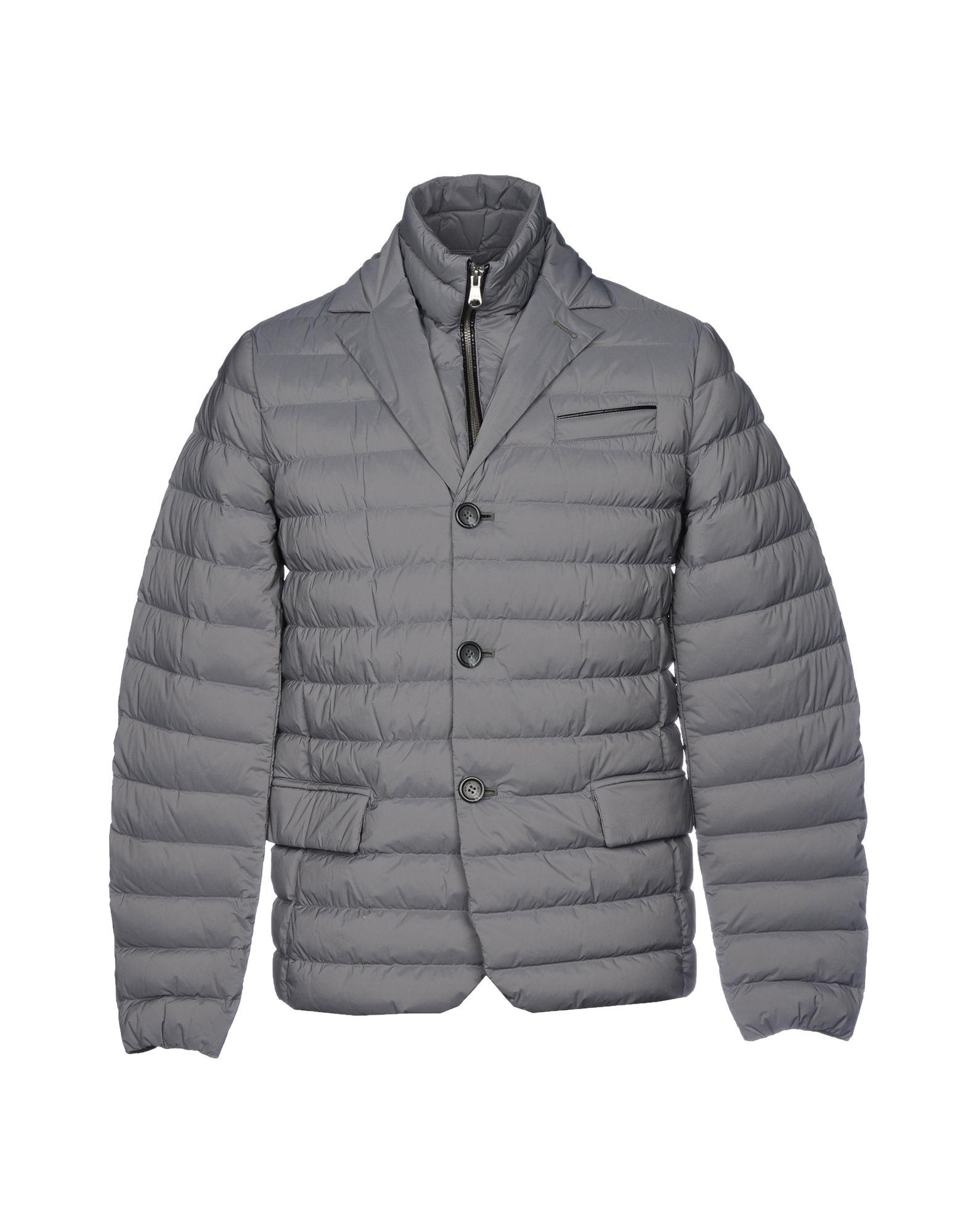 118e206ff5 Geox Down Jacket in Gray for Men - Lyst