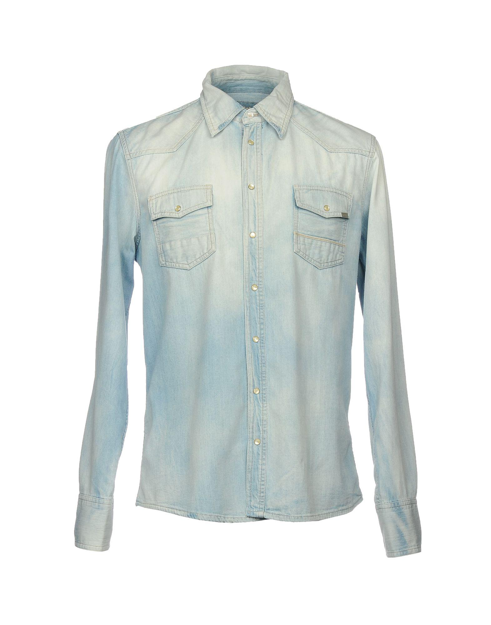 DENIM - Denim shirts Care Label Clearance Extremely Cheap Sale Fashionable Marketable Cheap Online Clearance Great Deals 8XYpDk4f0
