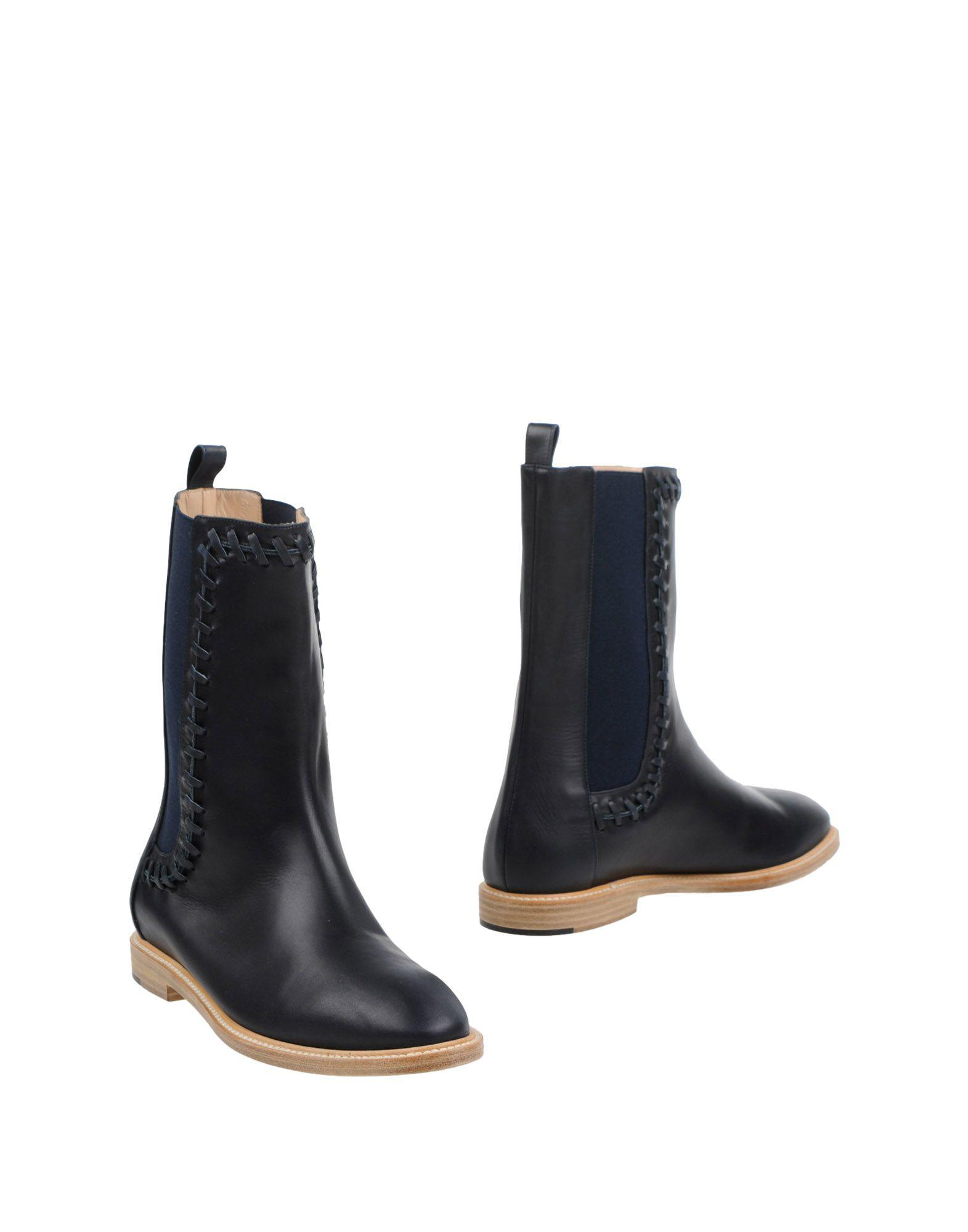 Maiyet Leather Round-Toe Ankle Boots new sale online sale latest collections clearance low shipping jDfvwF