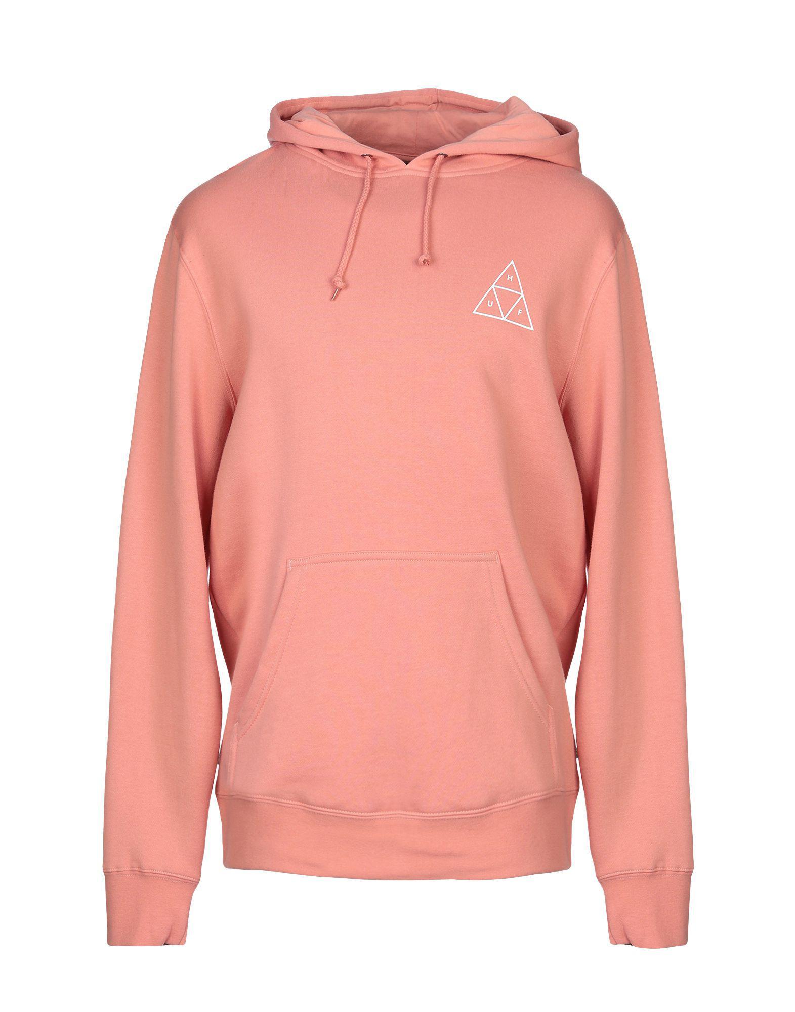 c3208aea86b7d Lyst - Sweat-shirt Huf pour homme en coloris Rose