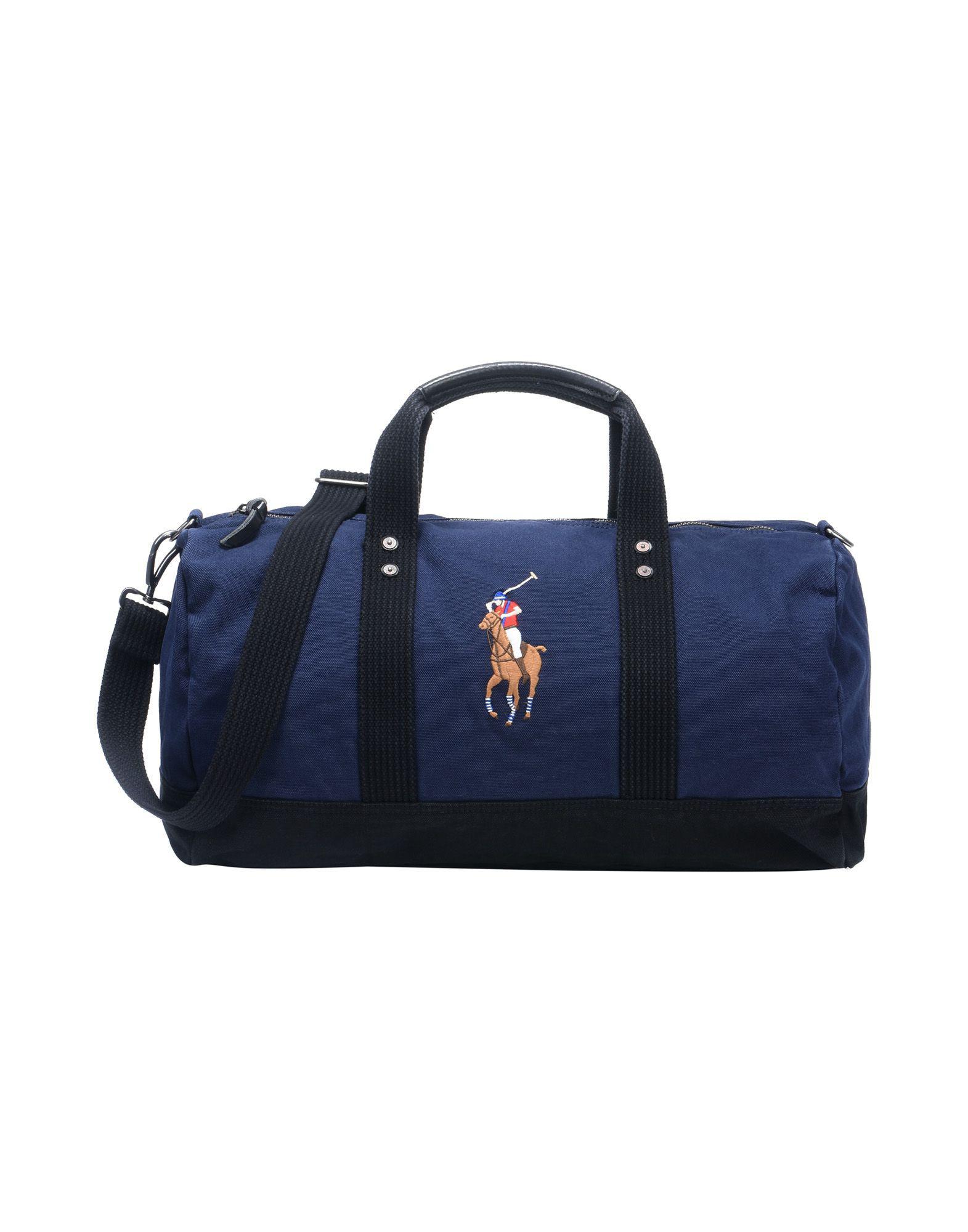 a7a8e98434 Sac de voyage Polo Ralph Lauren pour homme en coloris Bleu - Lyst