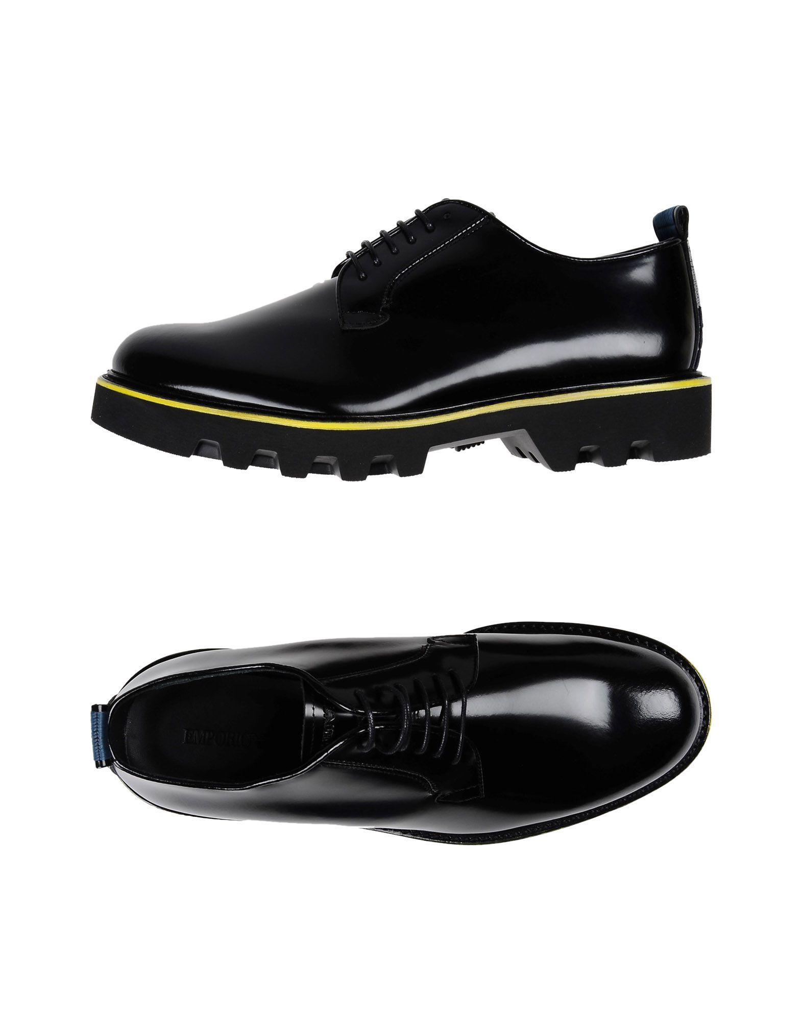 FOOTWEAR - Lace-up shoes on YOOX.COM Armani MNUOYKaW