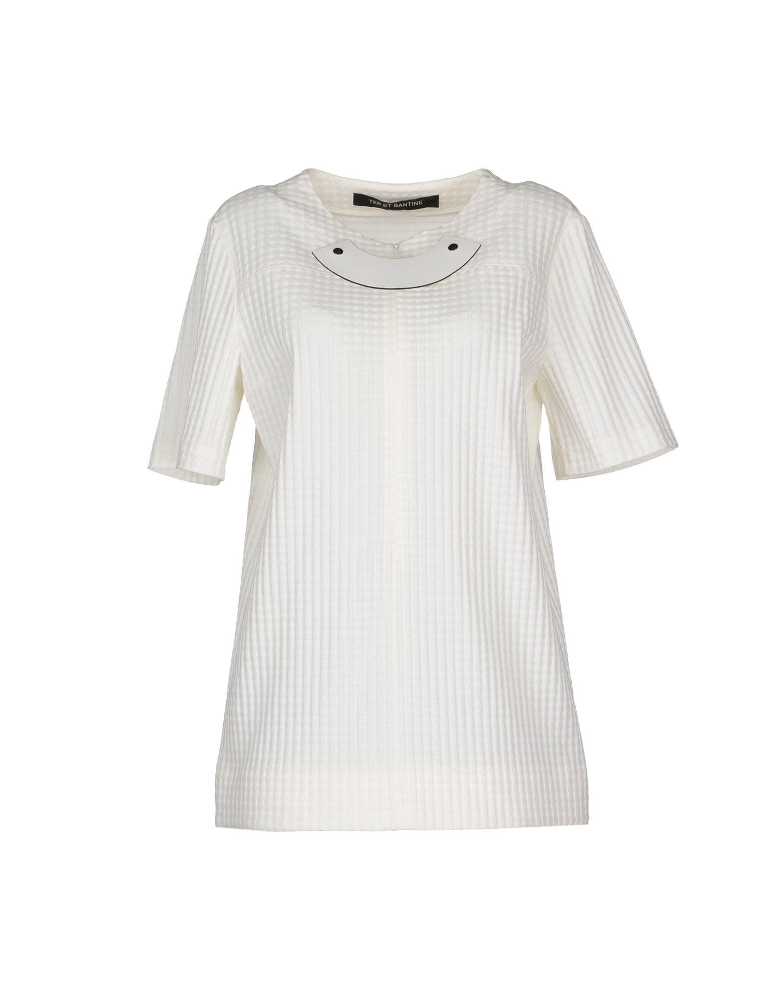 aee3030836ef3 Lyst - Ter Et Bantine Blouse in White