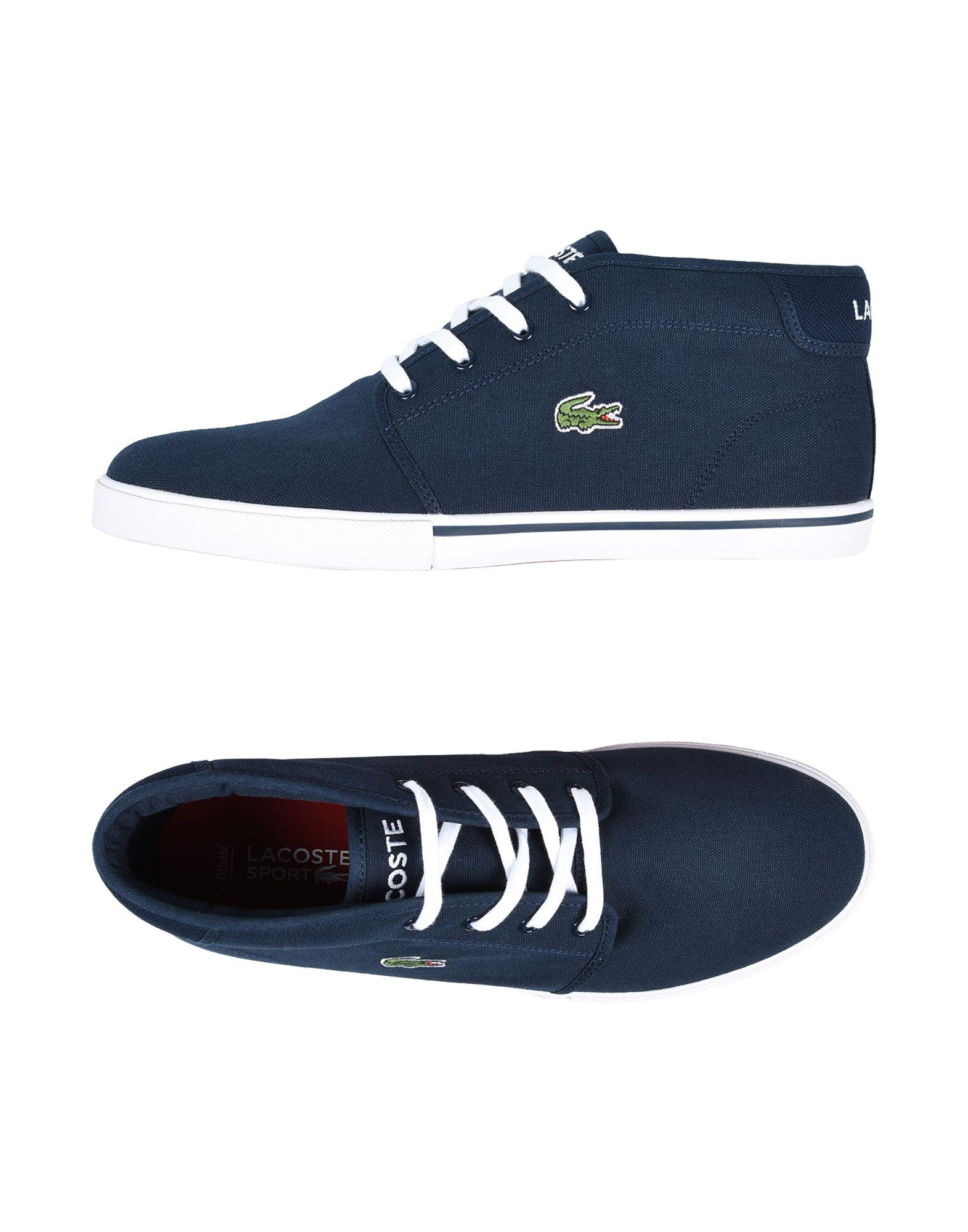 62dbc173e Lacoste Sport - Blue High-tops   Sneakers for Men - Lyst. View fullscreen