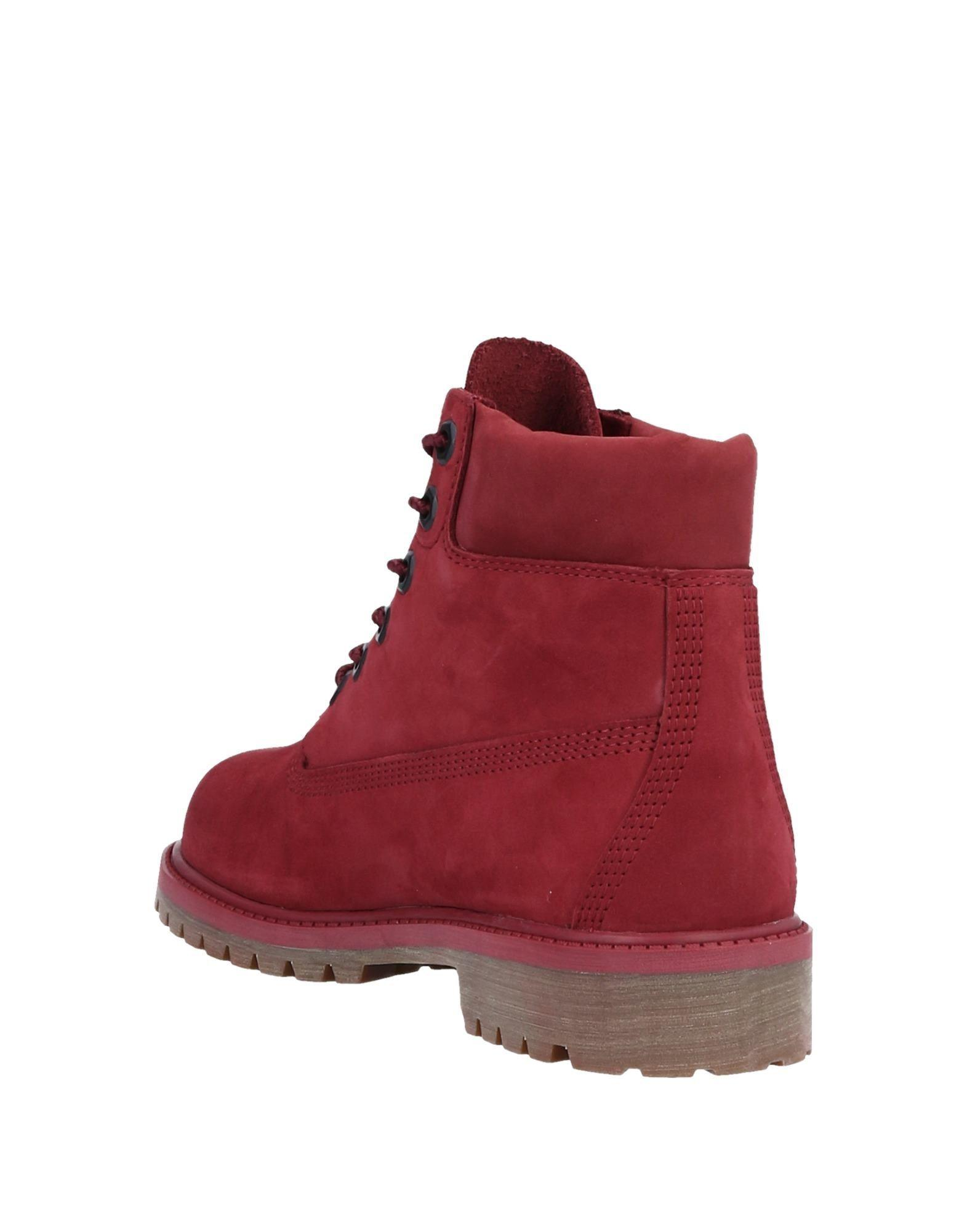 Lyst Timberland Ankle Boots In Red