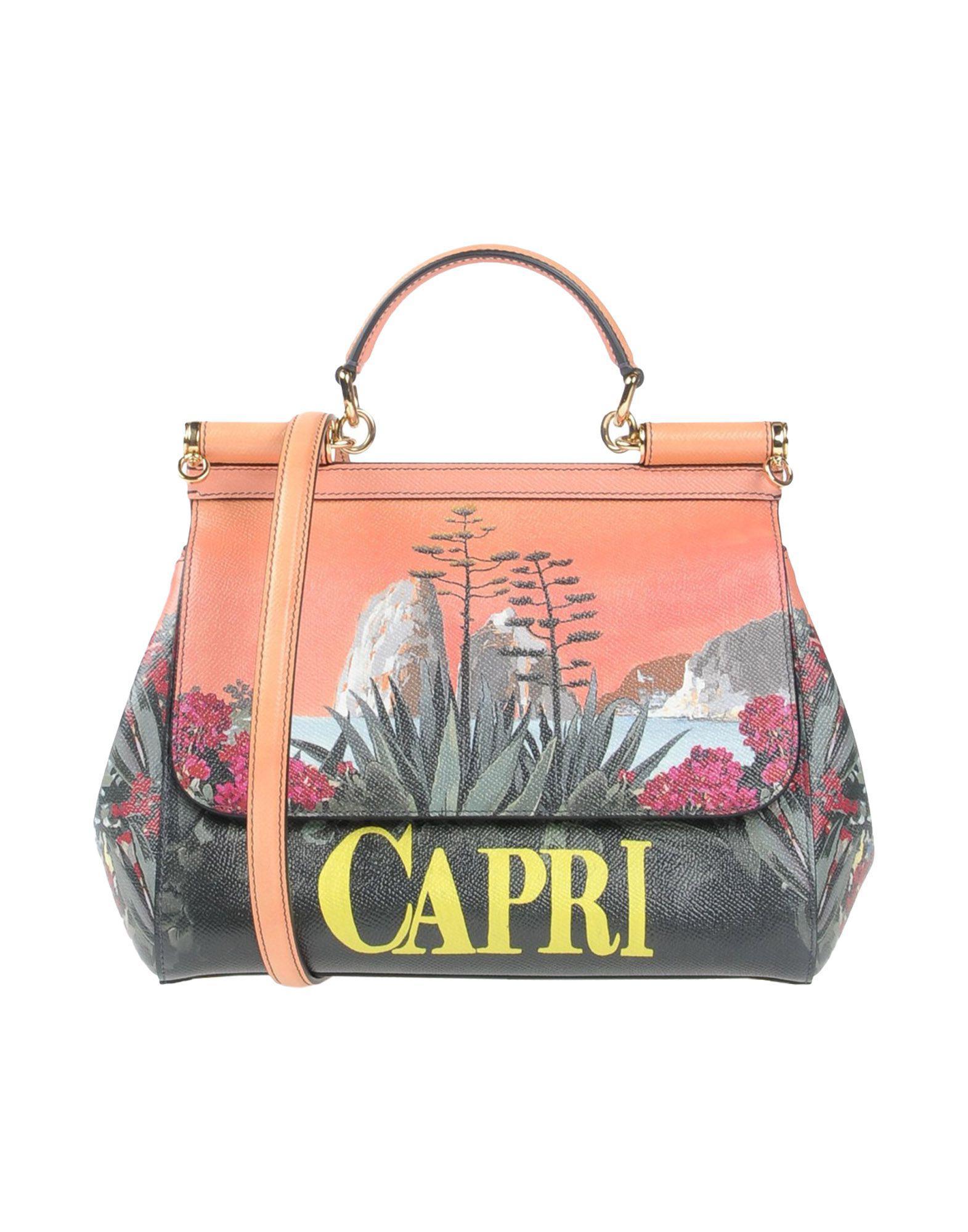 30ce1c38e11e Lyst - Dolce   Gabbana Handbag in Orange