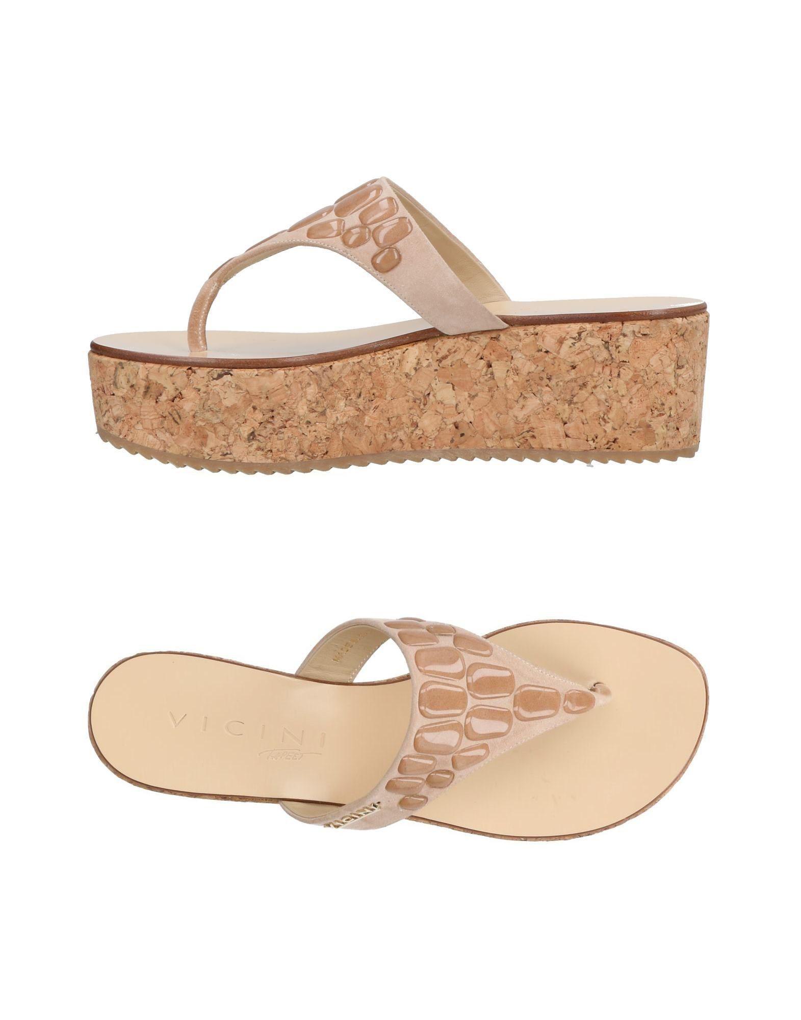 FOOTWEAR - Toe post sandals Vicini Bx1Yc3q4m1