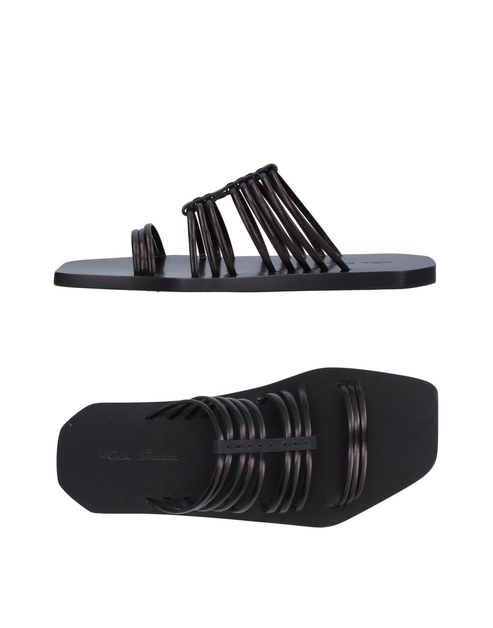 154ed328b235a0 Lyst - Rick Owens Sandals in Black