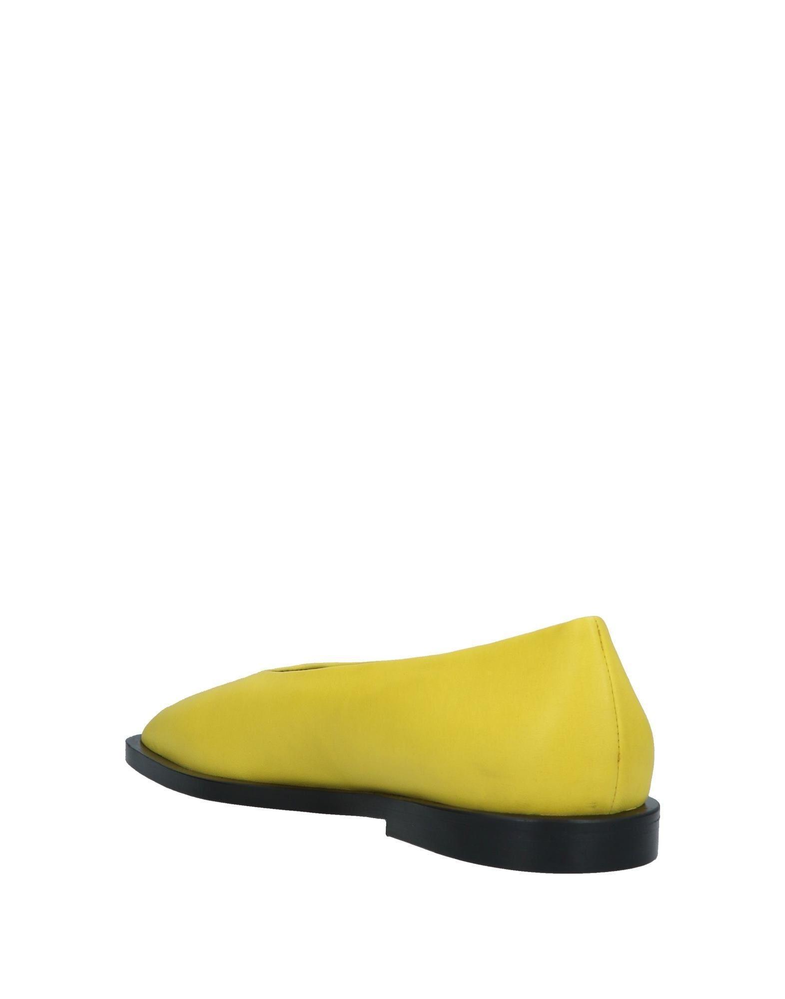 b4377f824cab Lyst - Marni Ballet Flats in Yellow