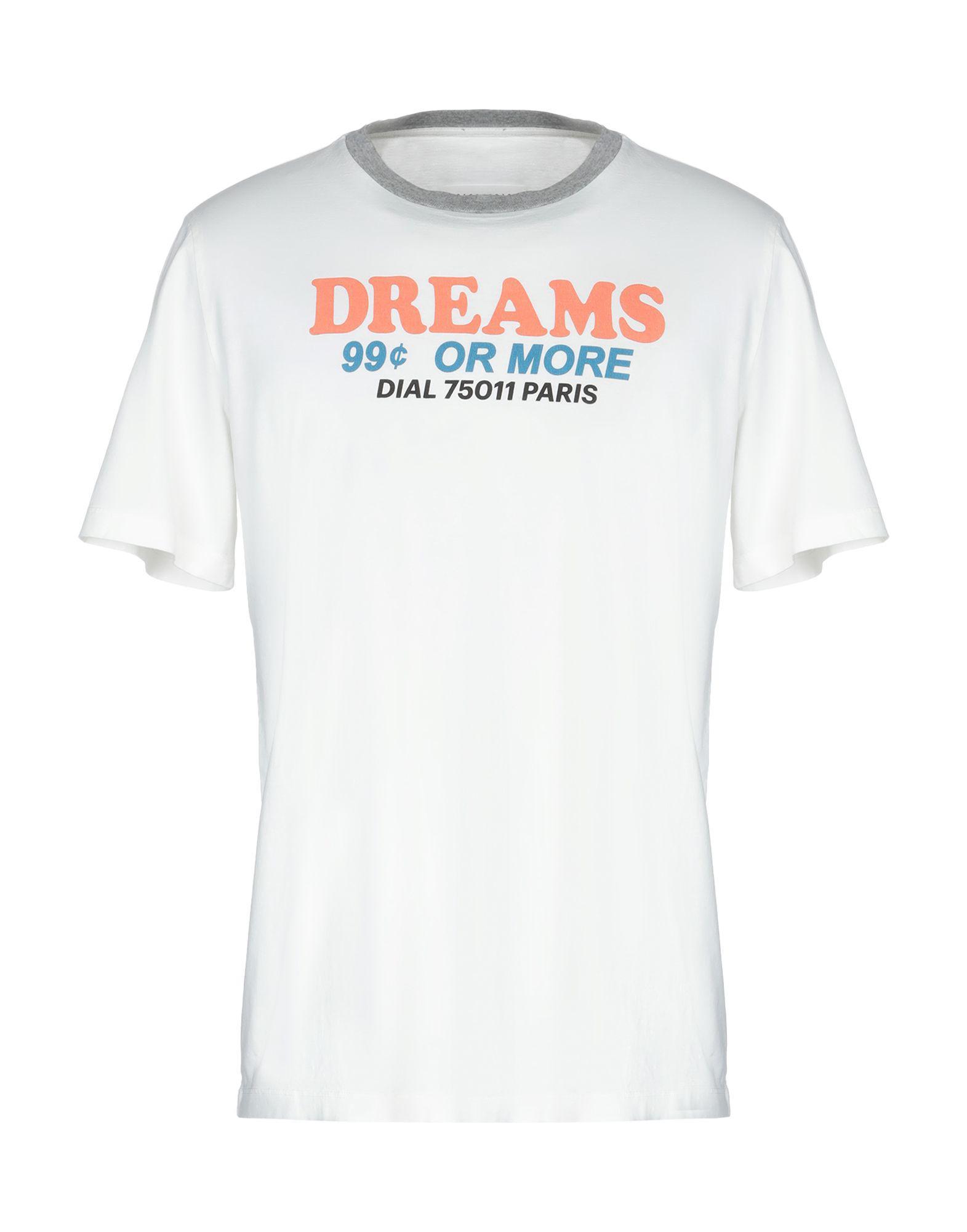 Lyst Maison Margiela T Shirt In Natural For Men
