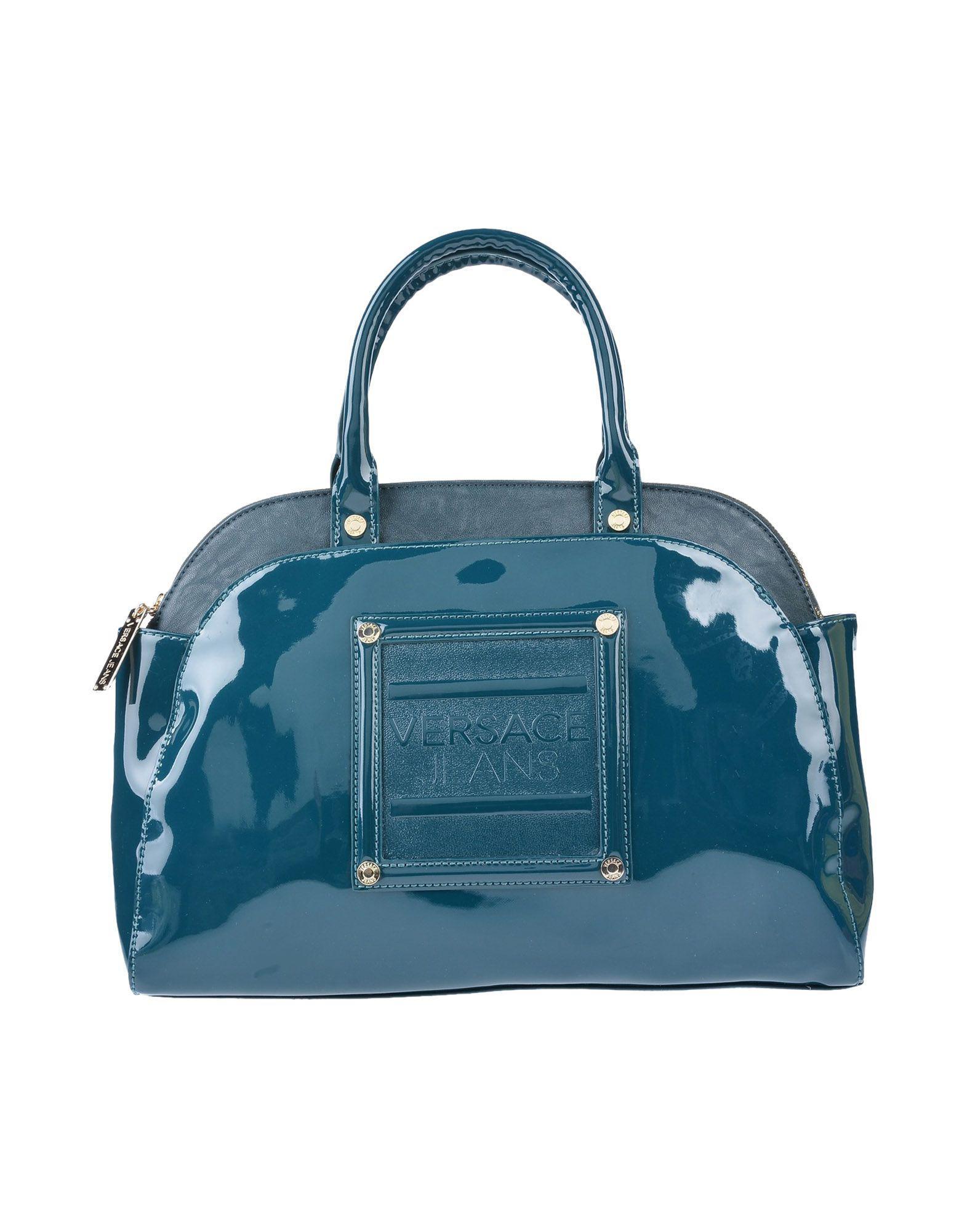 3408f787732d Versace Jeans Handbag in Blue - Lyst