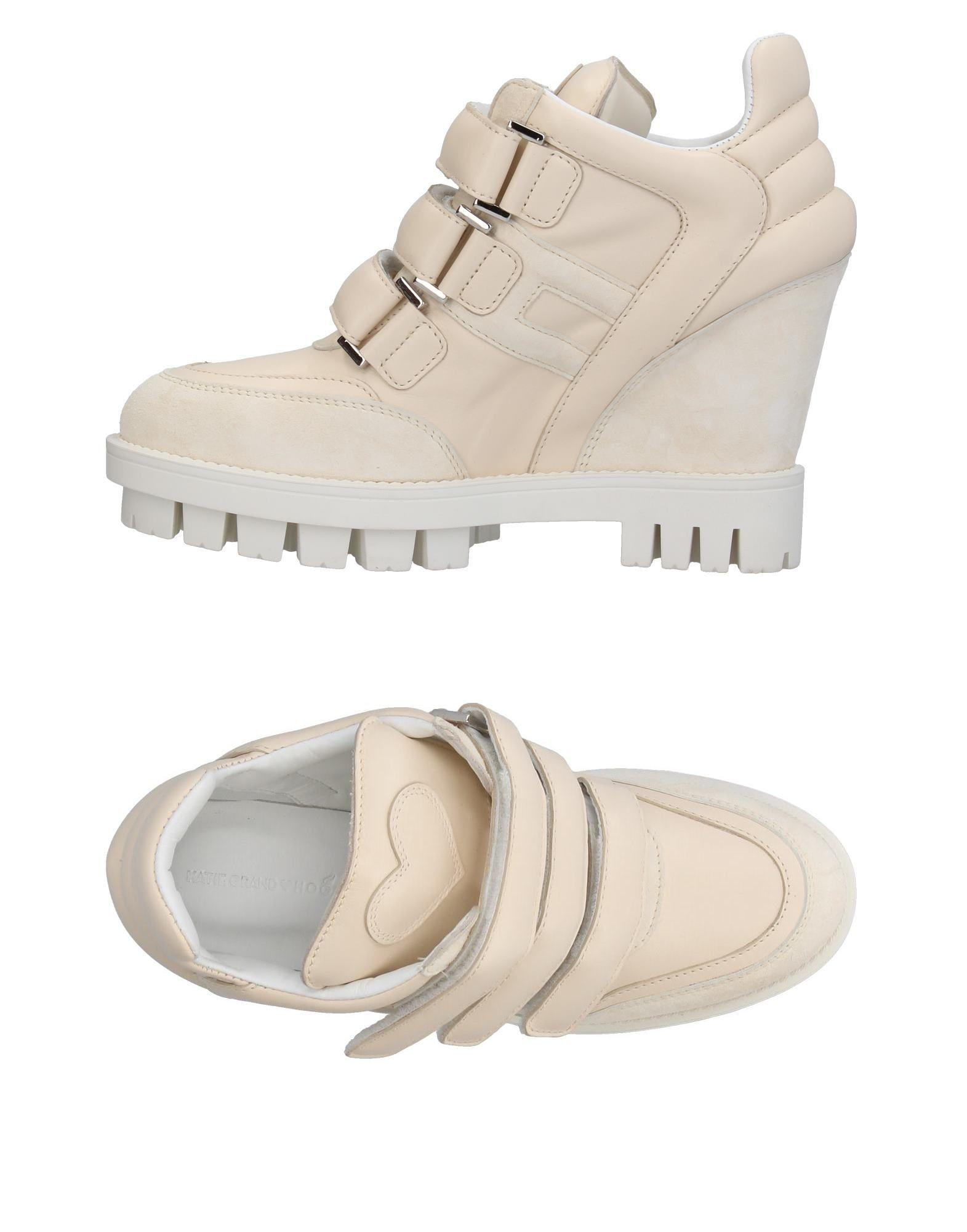 1892063a341f Lyst - Katie Grand Loves Hogan Low-tops   Sneakers in White