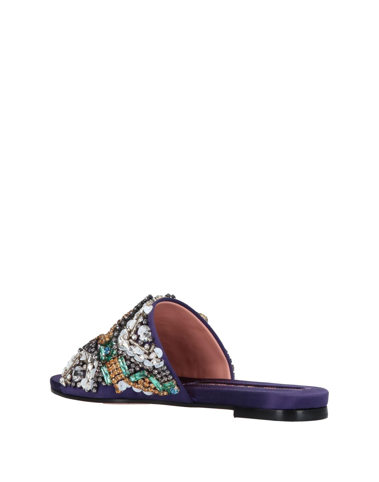 73aaecdf5652 Lyst - Rochas Sandals in Purple