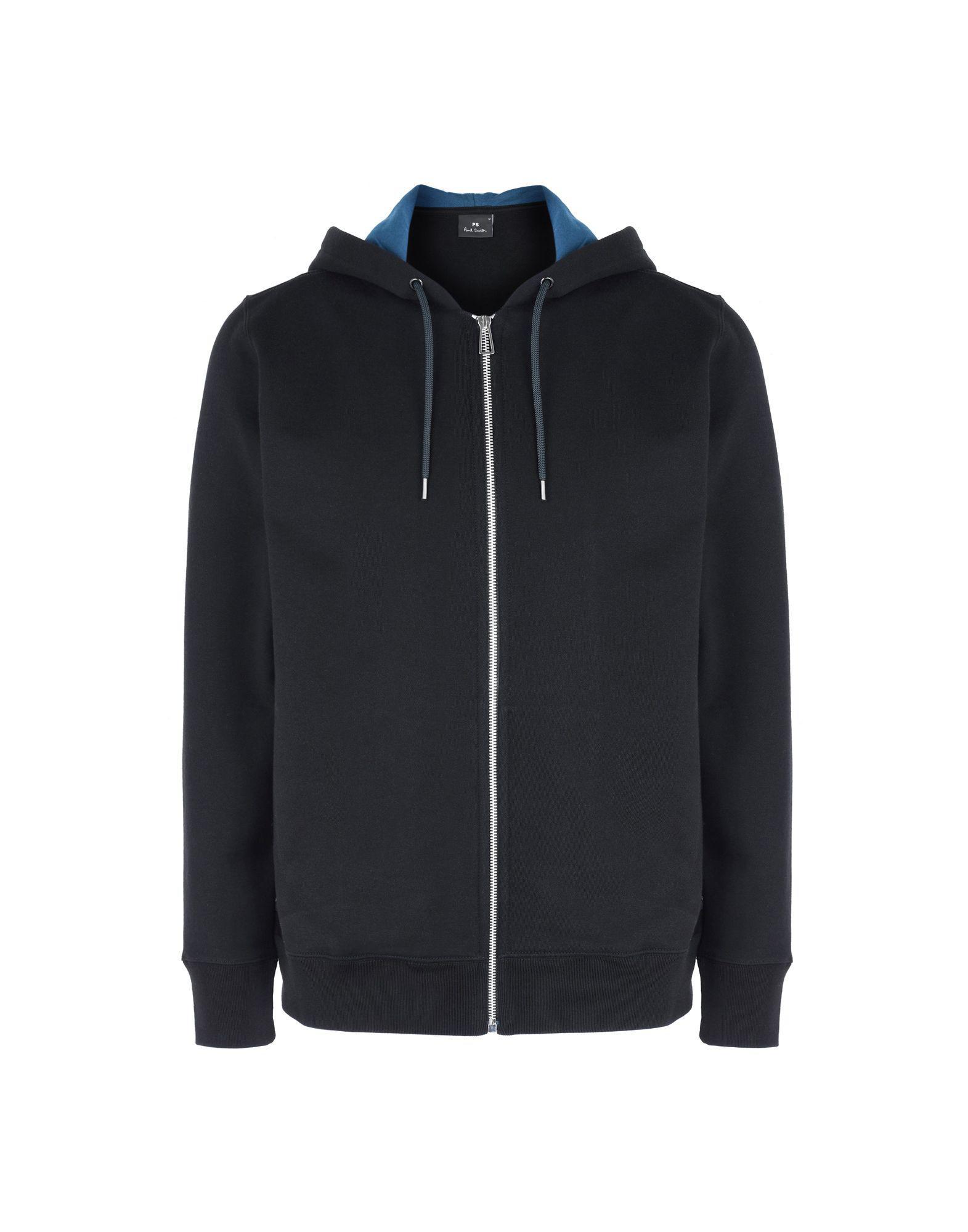 e13651e676b6b PS by Paul Smith Sweatshirt in Black for Men - Lyst