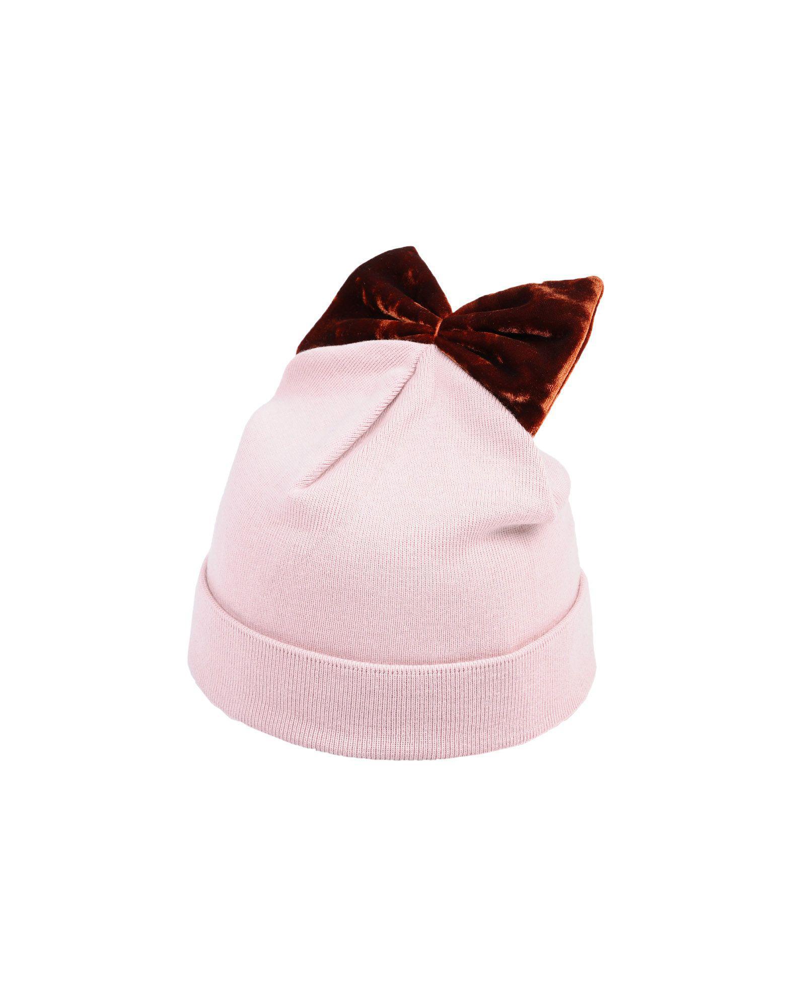 a3c16372e69 Federica Moretti Hat in Pink - Lyst
