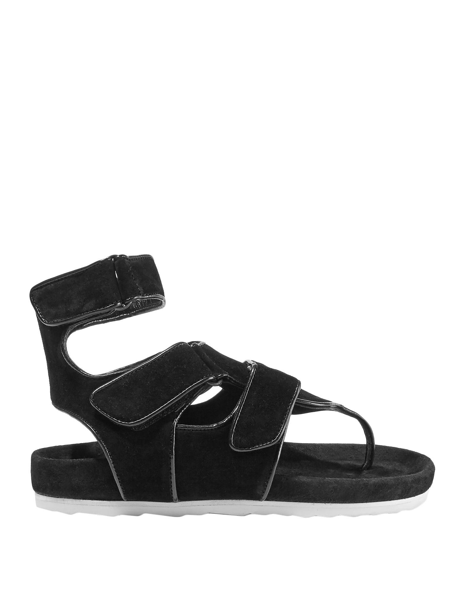 08424d9235237a Lyst - Pierre Hardy Toe Post Sandal in Black