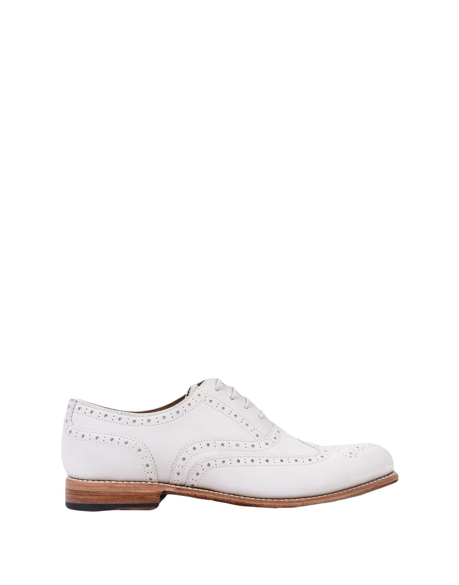 8ee63664d82 Lyst - Grenson Lace-up Shoe in White