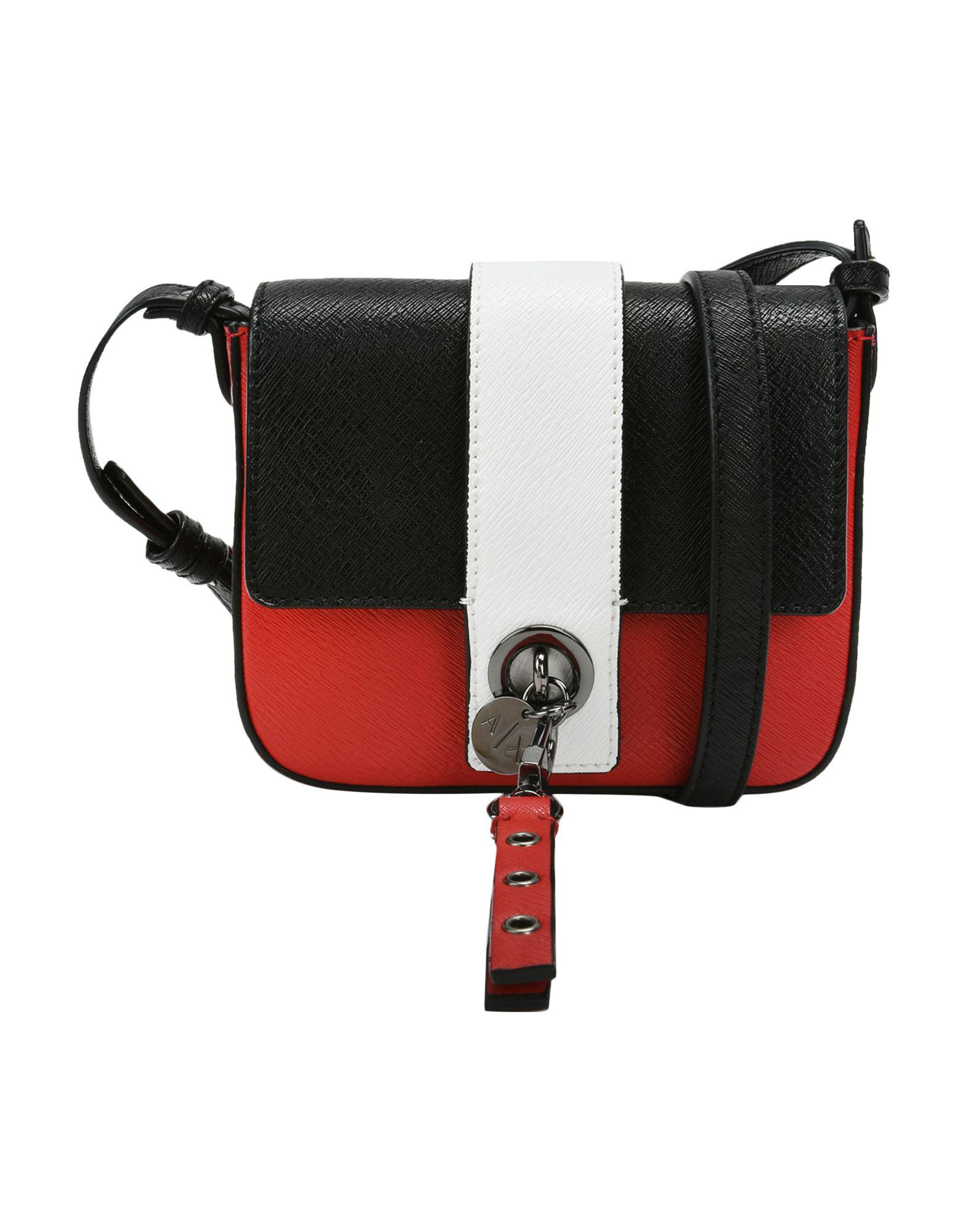 Armani Exchange Cross-body Bag in Red - Lyst 6af9e78666