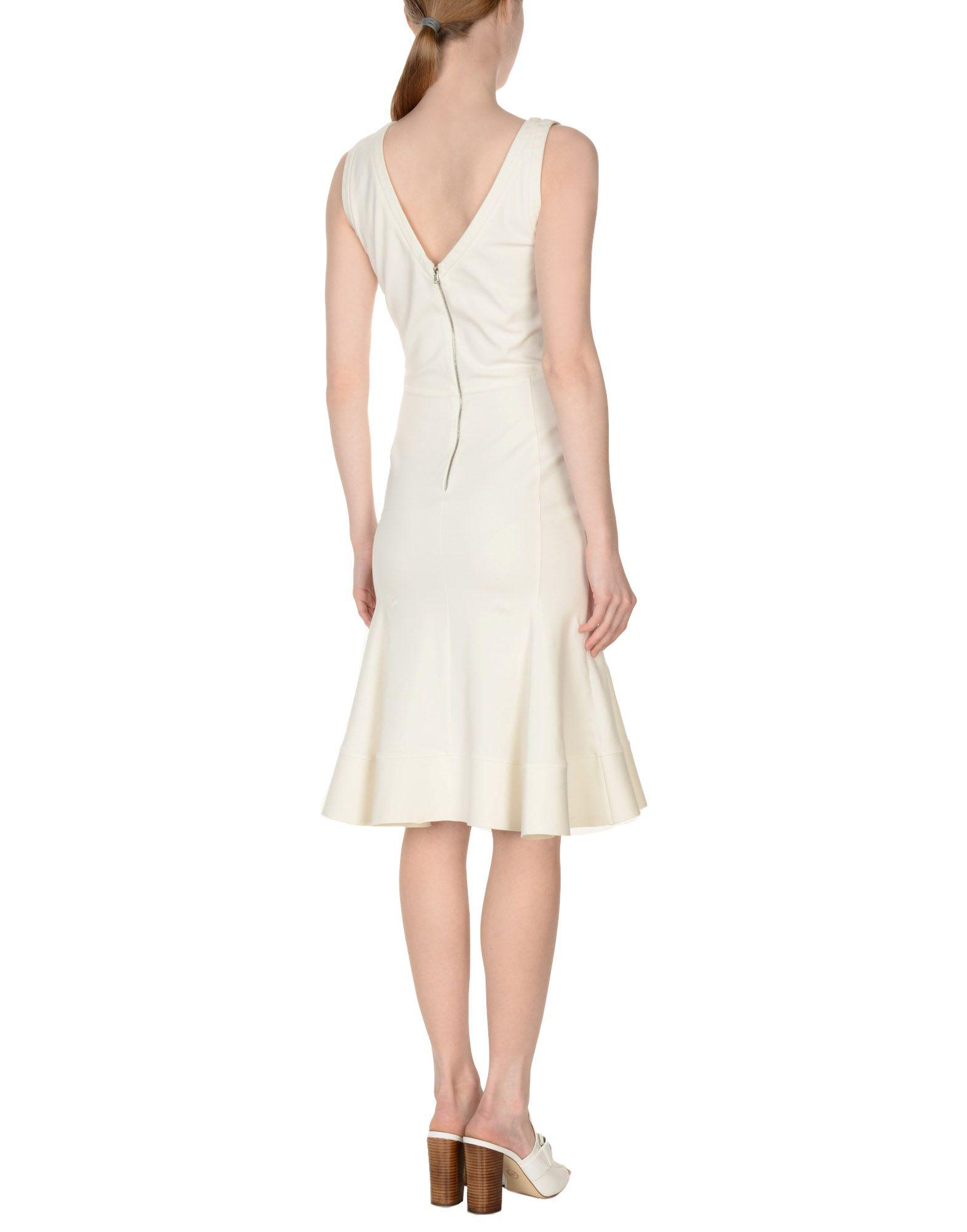 eb73af8f432 Lyst - Antonio Berardi Knee-length Dress in White