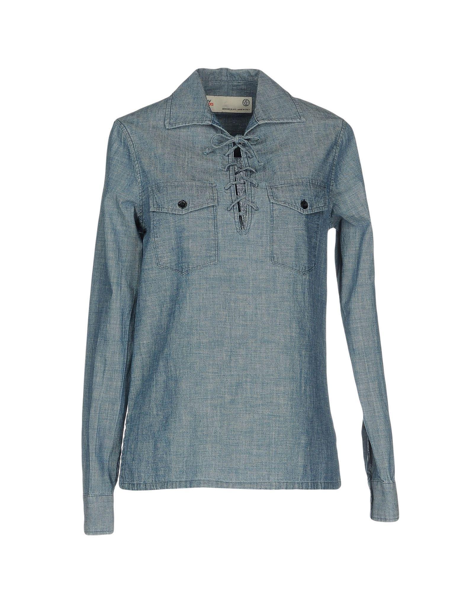DENIM - Denim shirts Roy Rogers Discount 2018 Newest tkKlVoQI