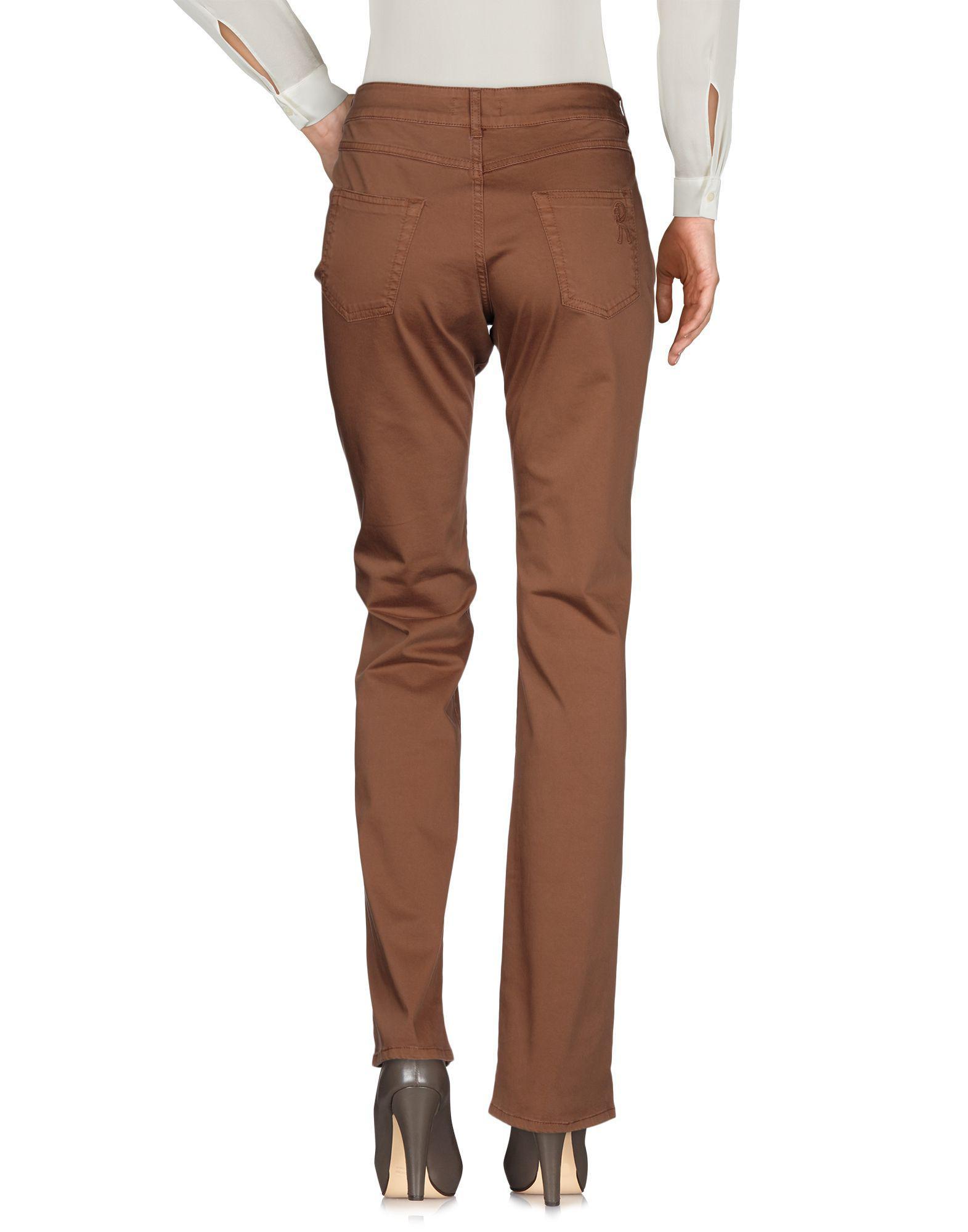 TROUSERS - Casual trousers Roberta Di Camerino rG8sHZj