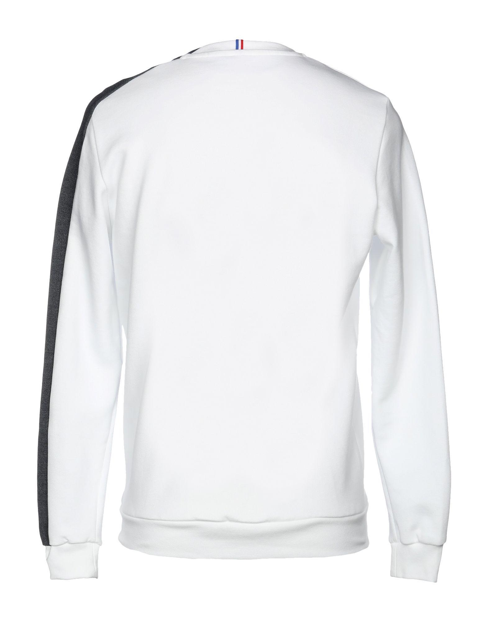 c32bfc434d49 Lyst - Le Coq Sportif Sweatshirt in White for Men