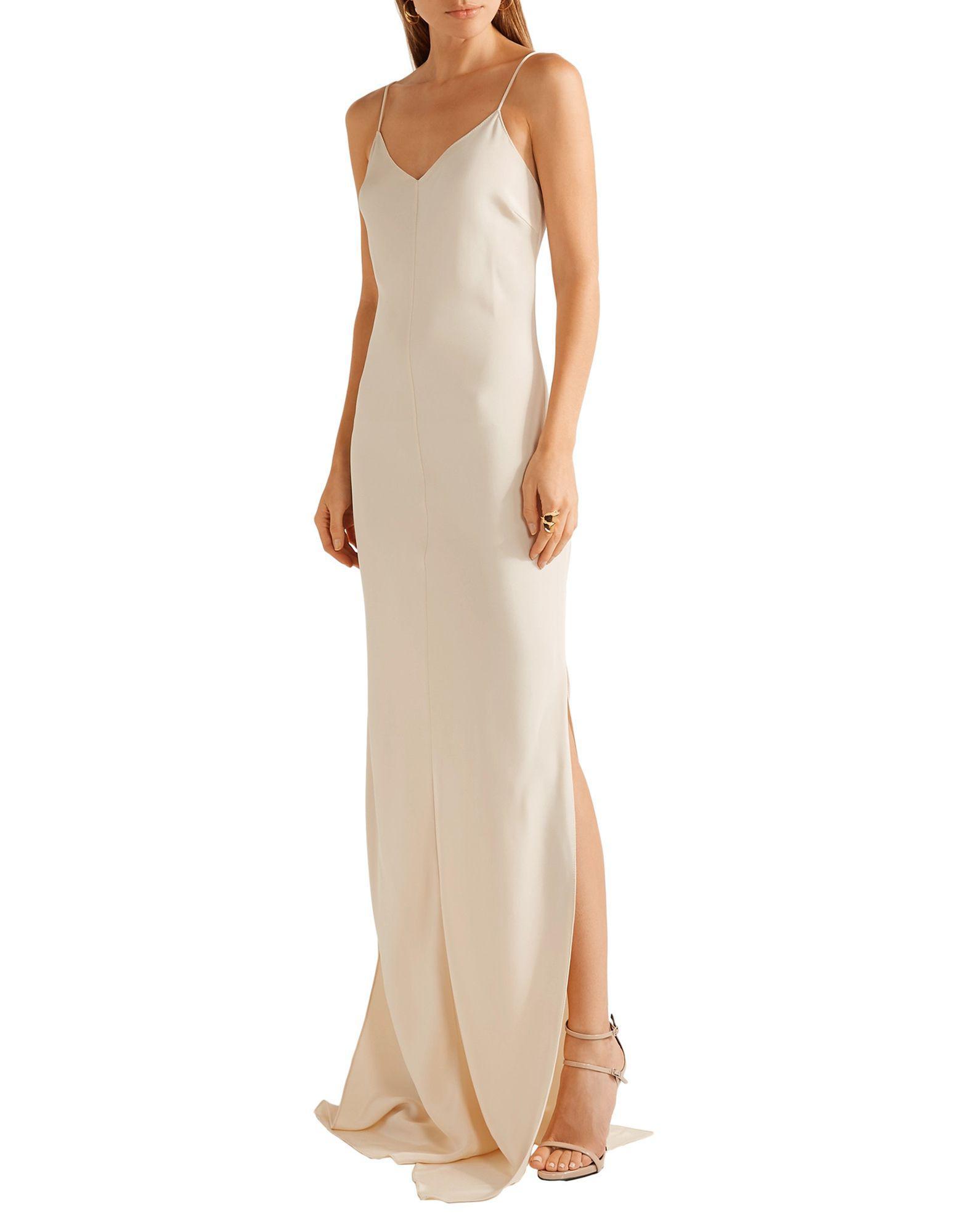 3593292a7f56 Lyst - Juan Carlos Obando Long Dress in White